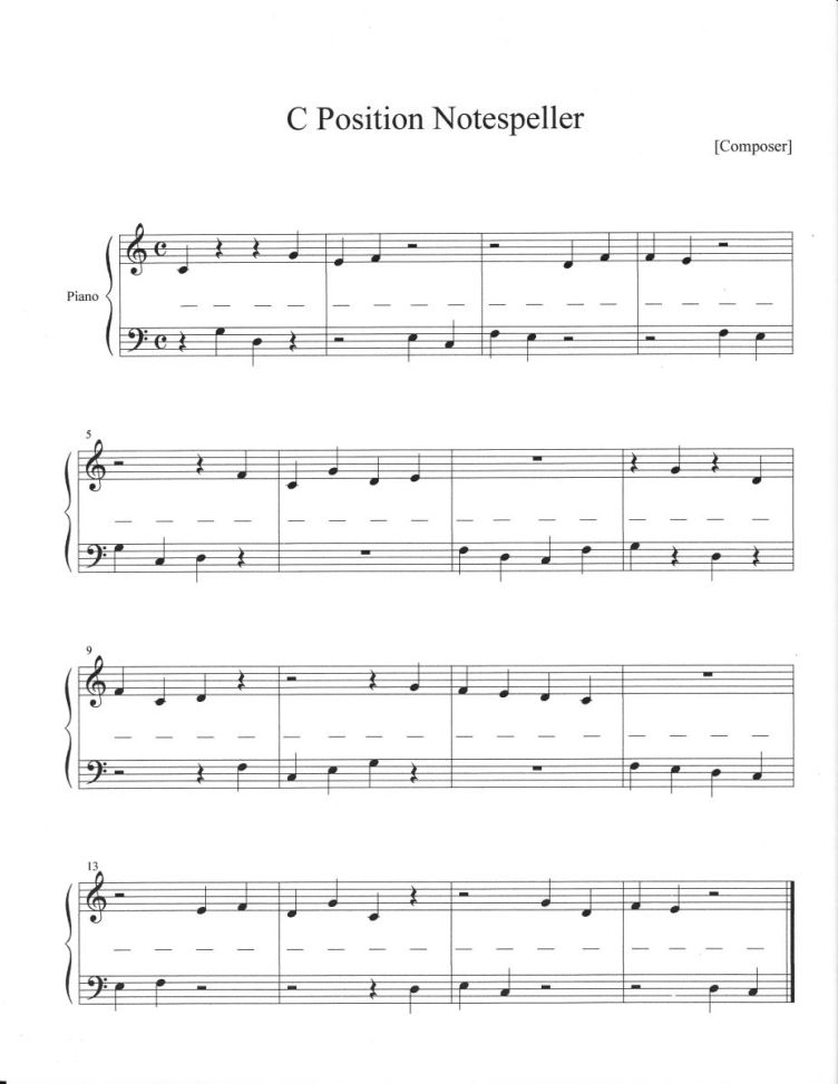 14 Best Images of Printable Piano Worksheets For Students ...