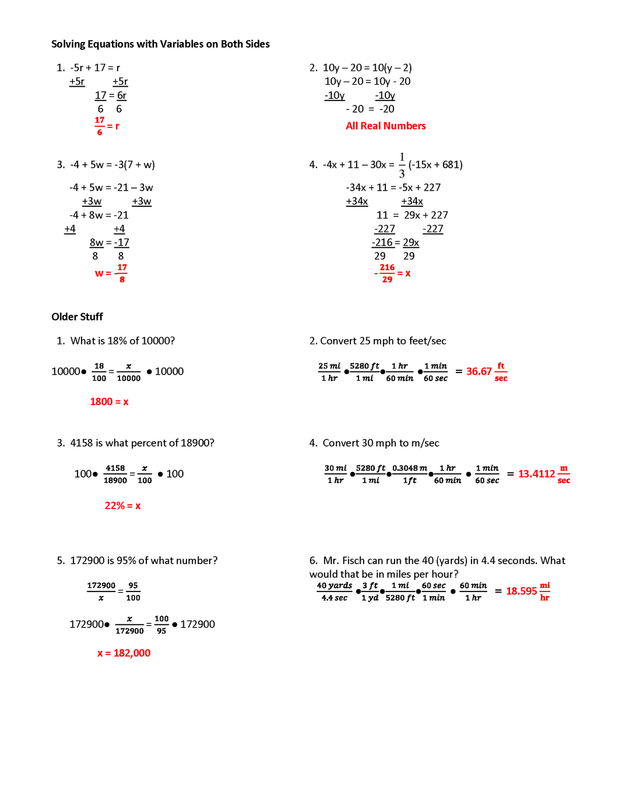 13 Best Images Of Linear Equation Practice Worksheets