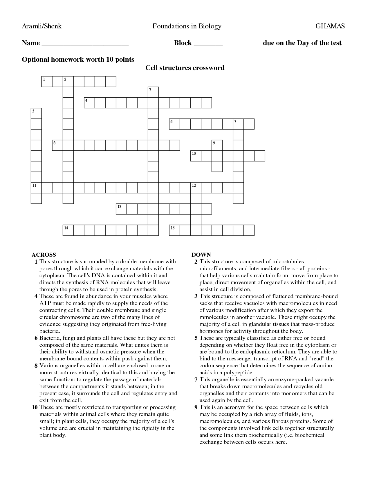 12 Best Images Of January Puzzle Worksheets
