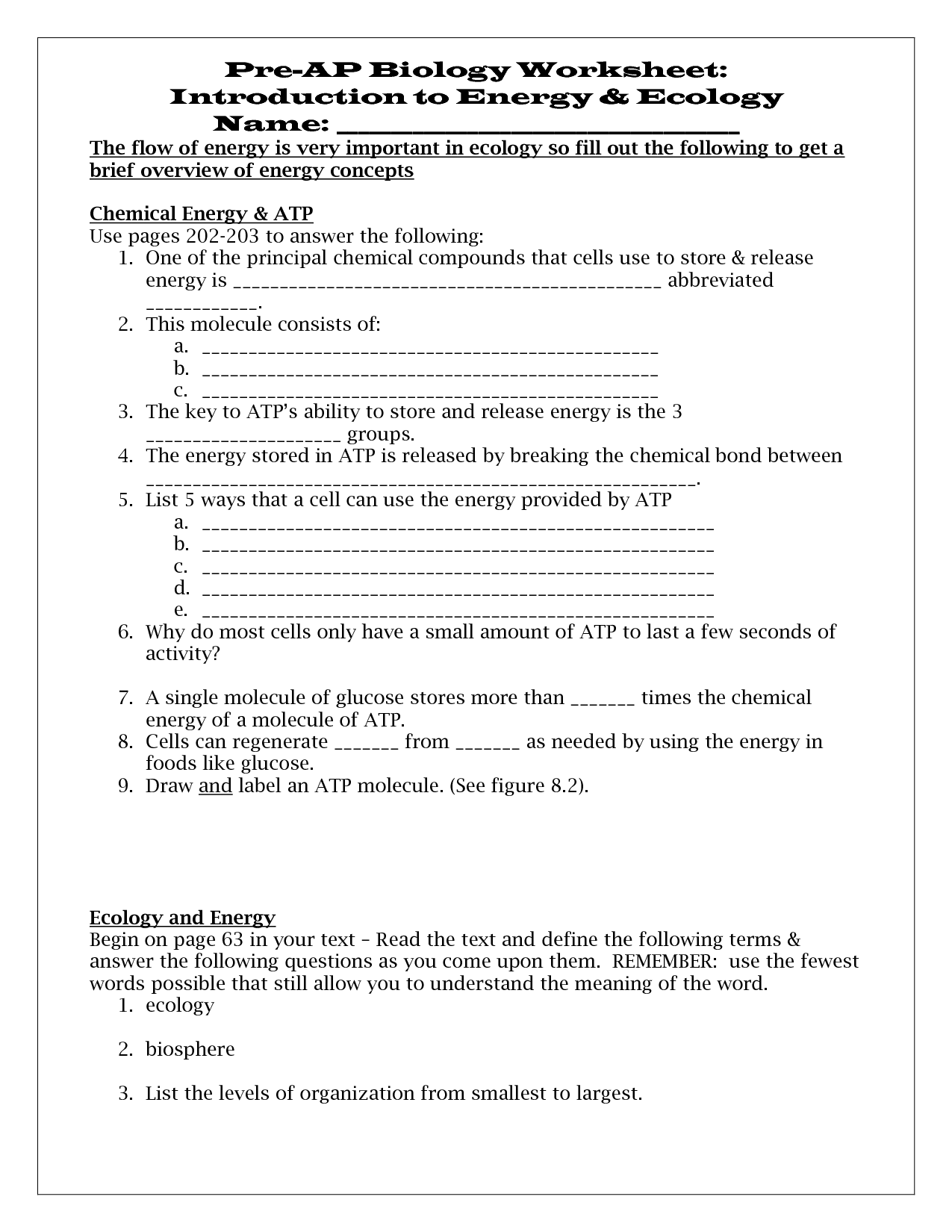 Ignite Energyalternative Energy Free Printable Worksheets