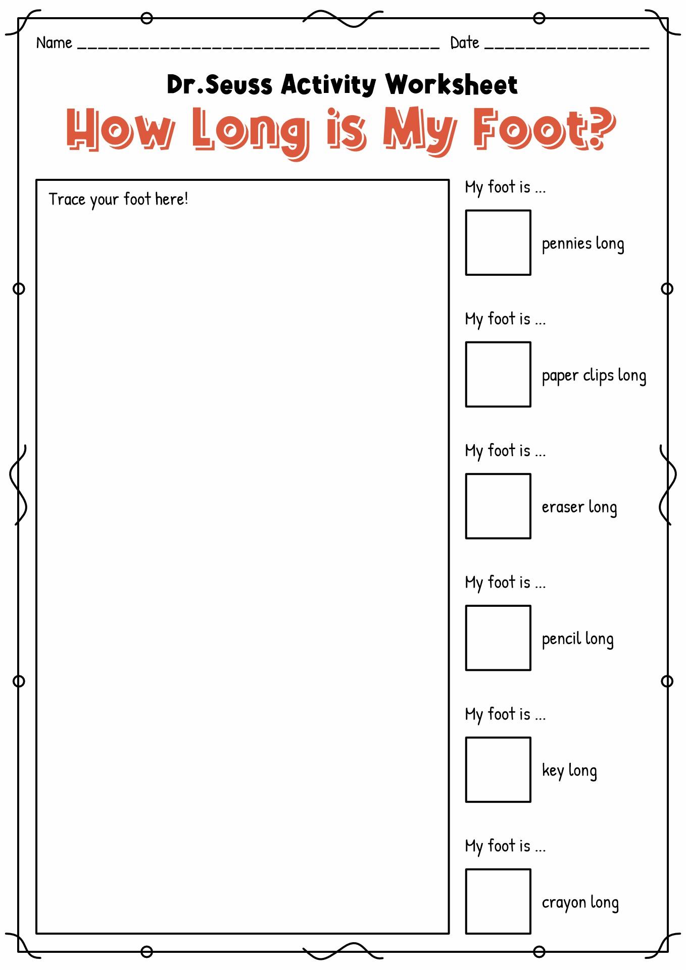 16 Best Images Of Dr Seuss Worksheets For Preschool