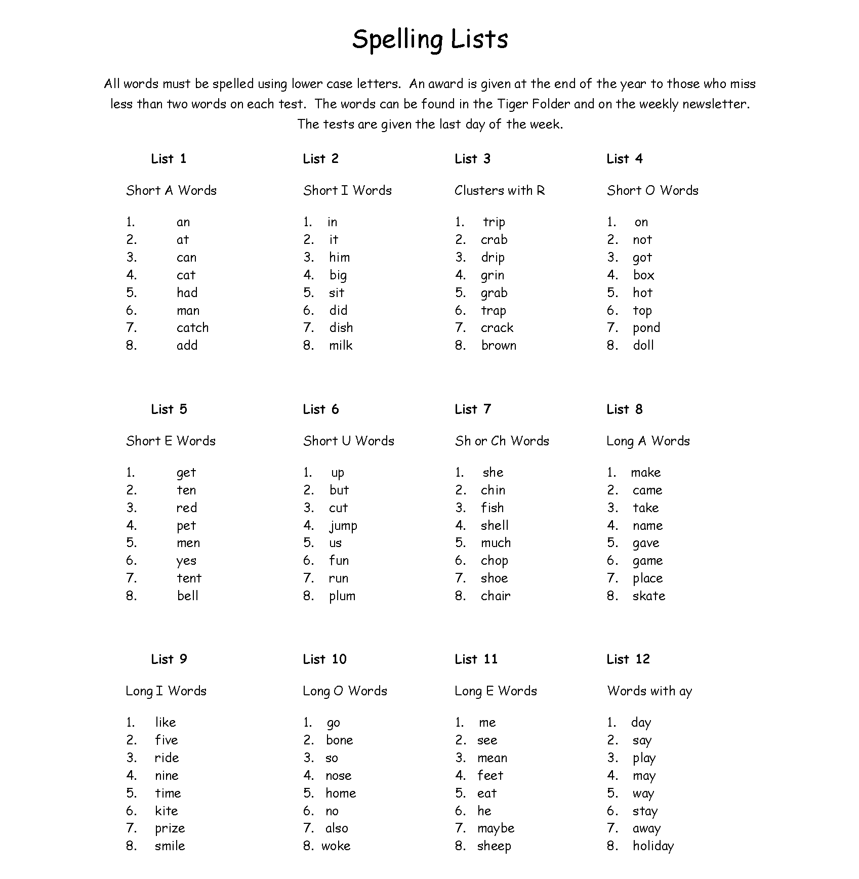 14 Best Images Of Free 6th Grade Spelling Worksheets