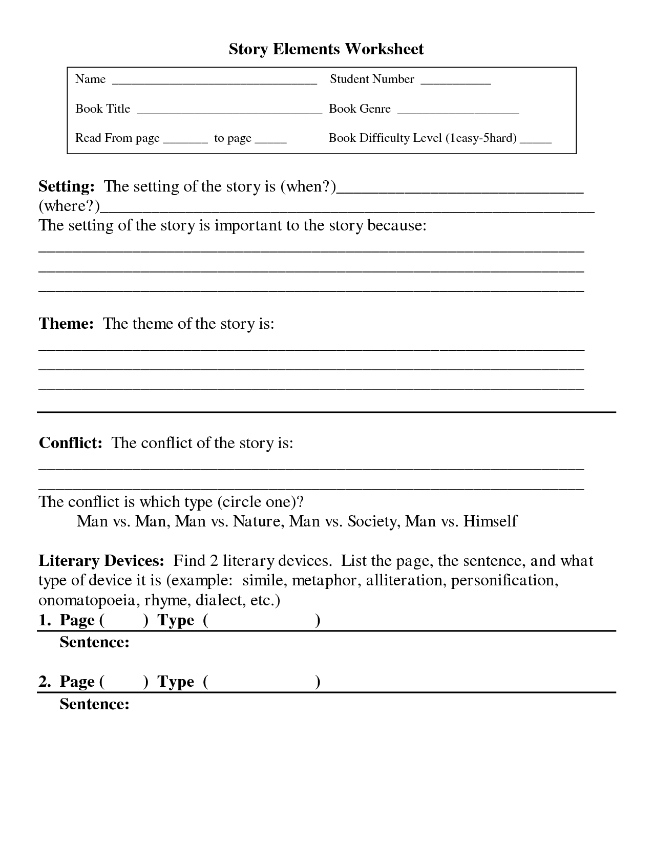 Comfortable Describing The Setting Graphic Organizer Worksheet By F Is