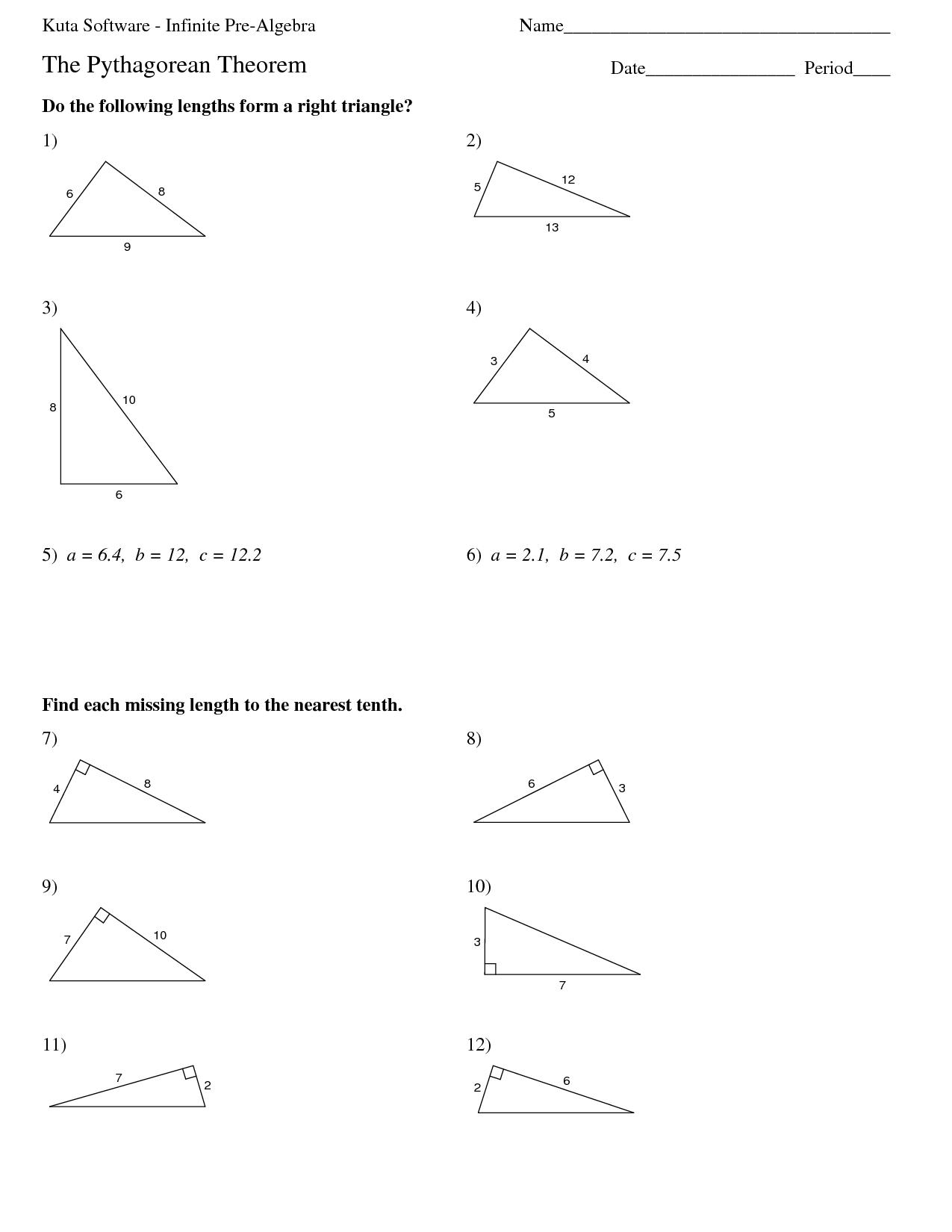 14 Best Images Of Pre Algebra Fraction Worksheets