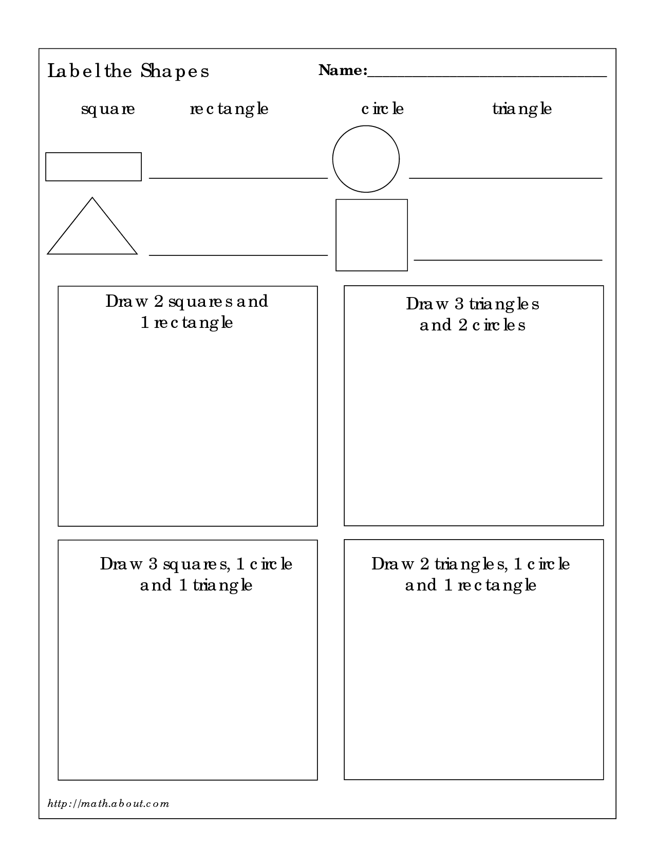 14 Best Images Of 3d Shapes Worksheet