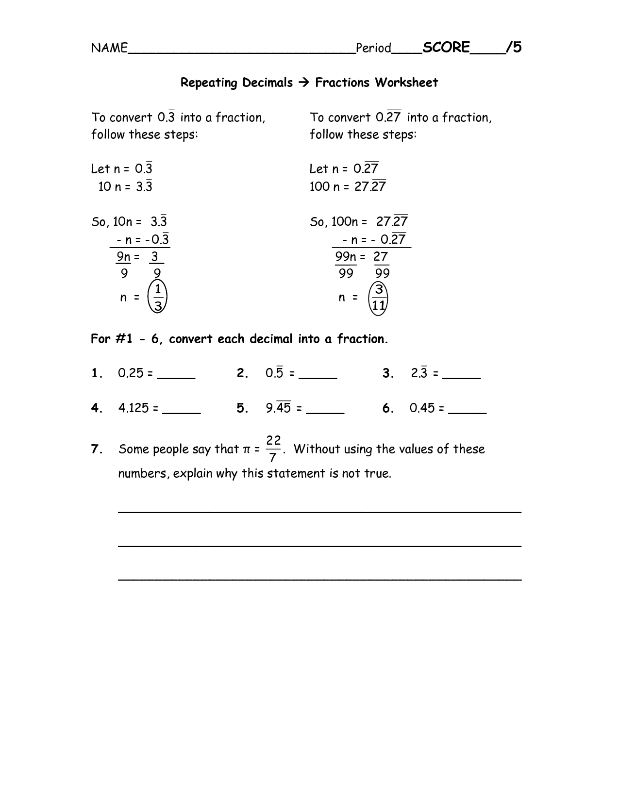 12 Best Images Of Lcm Practice Worksheet