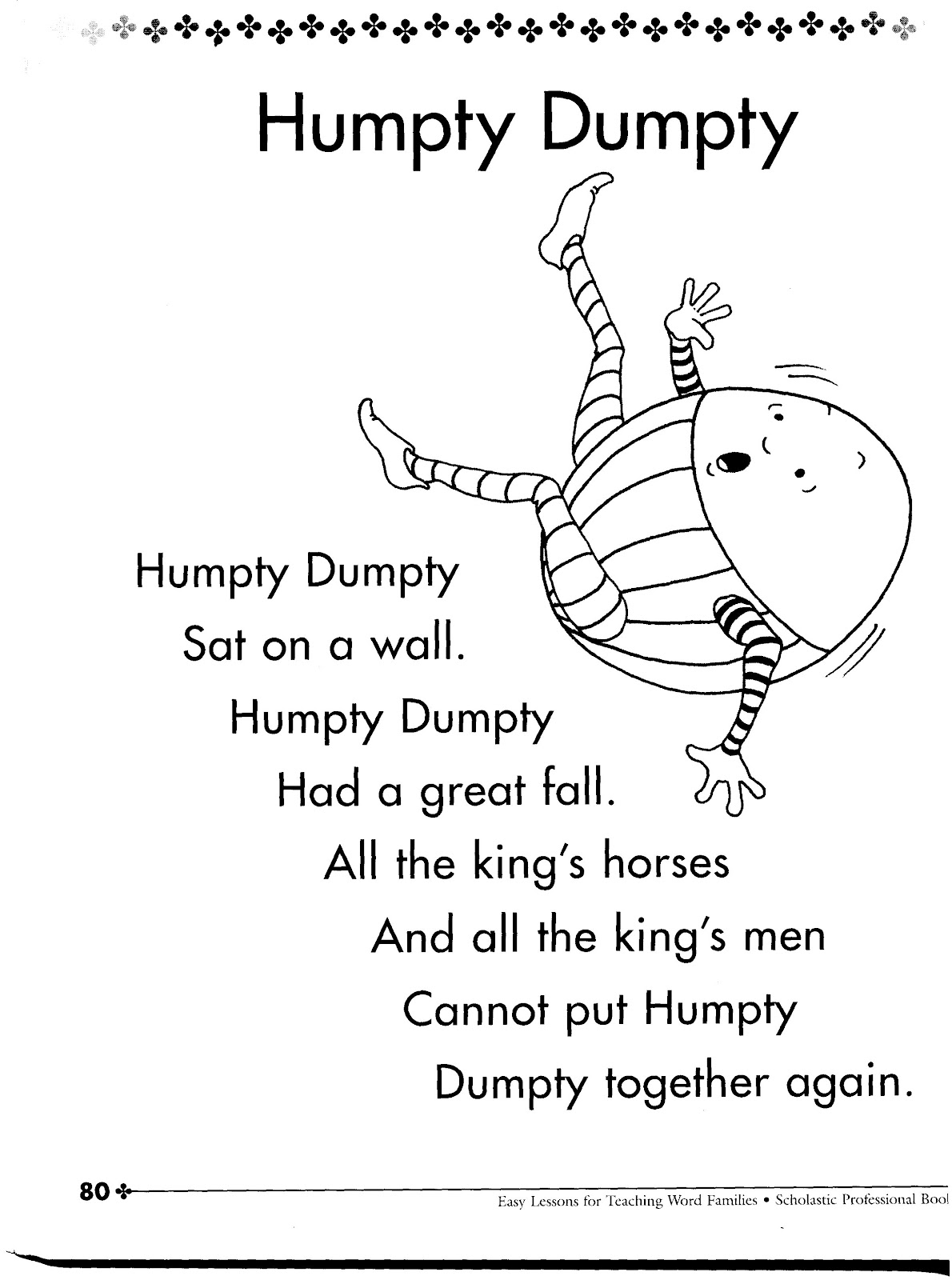 Rhyming Worksheet For Pre K Printables