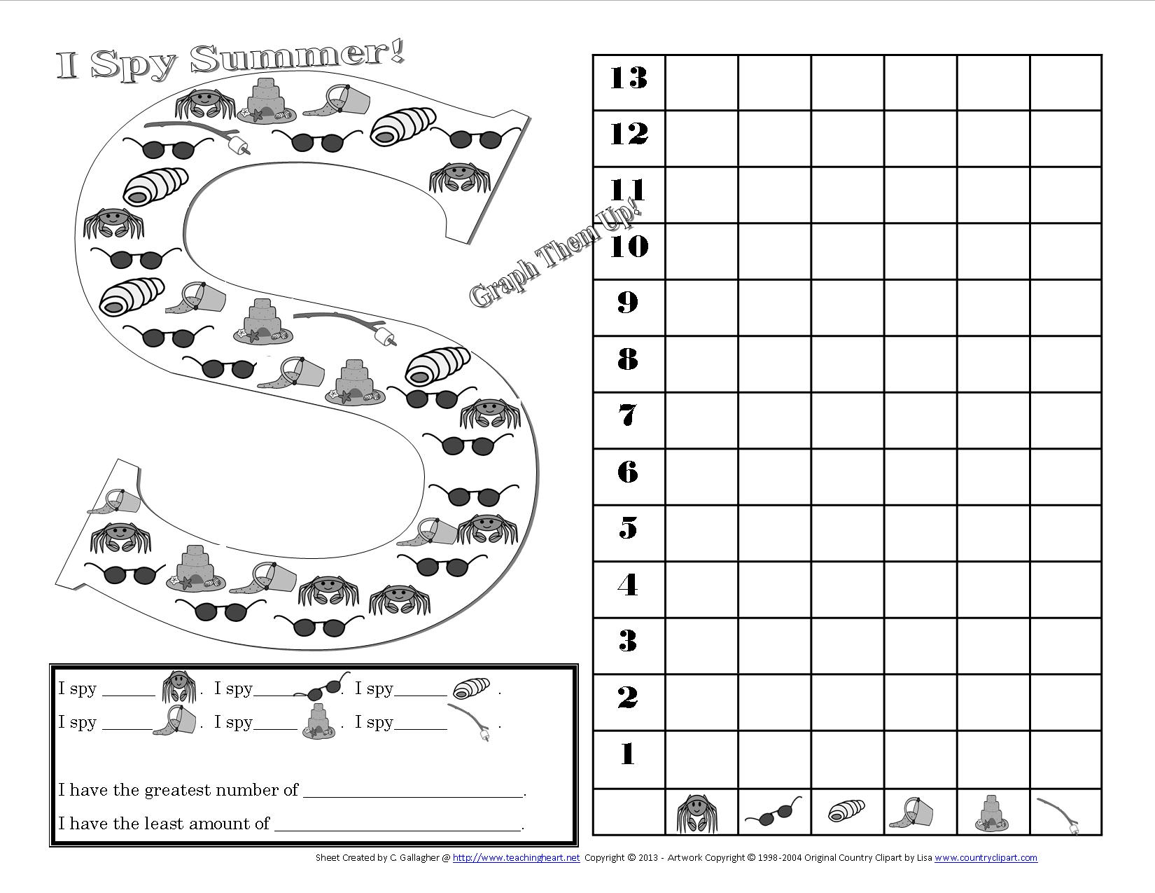 16 Best Images Of I Spy Worksheets Elementary