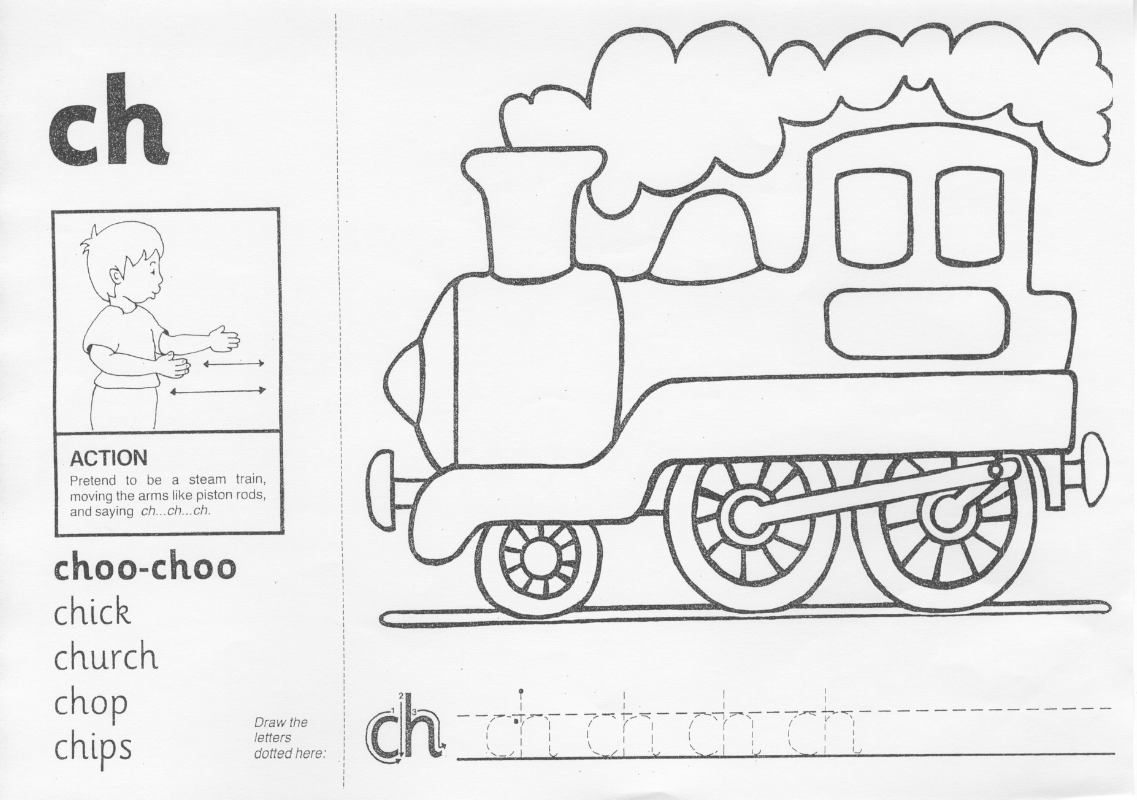 12 Best Images Of Free Jolly Phonics Worksheets