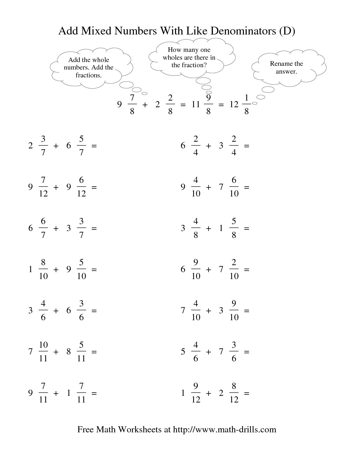 16 Best Images Of Reducing Fractions Worksheet