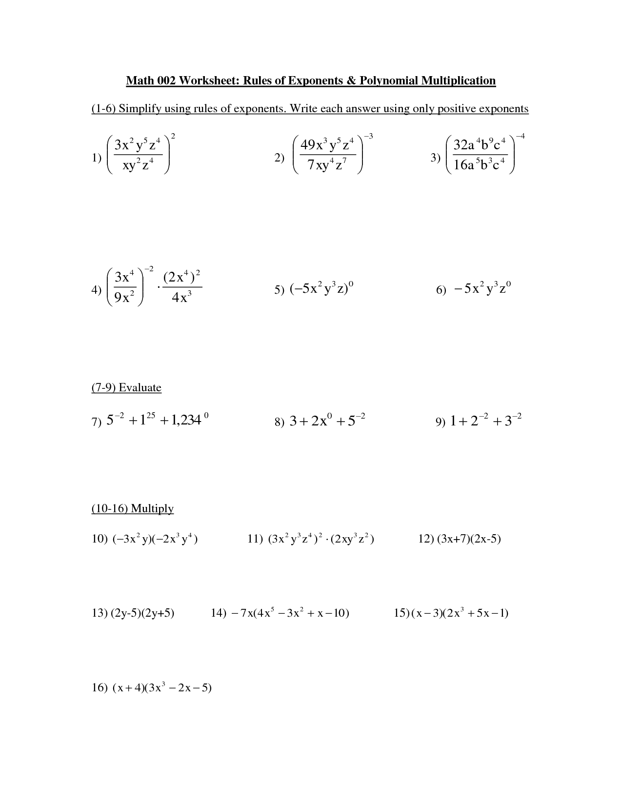Worksheet Exponential Notation Worksheets Grass Fedjp
