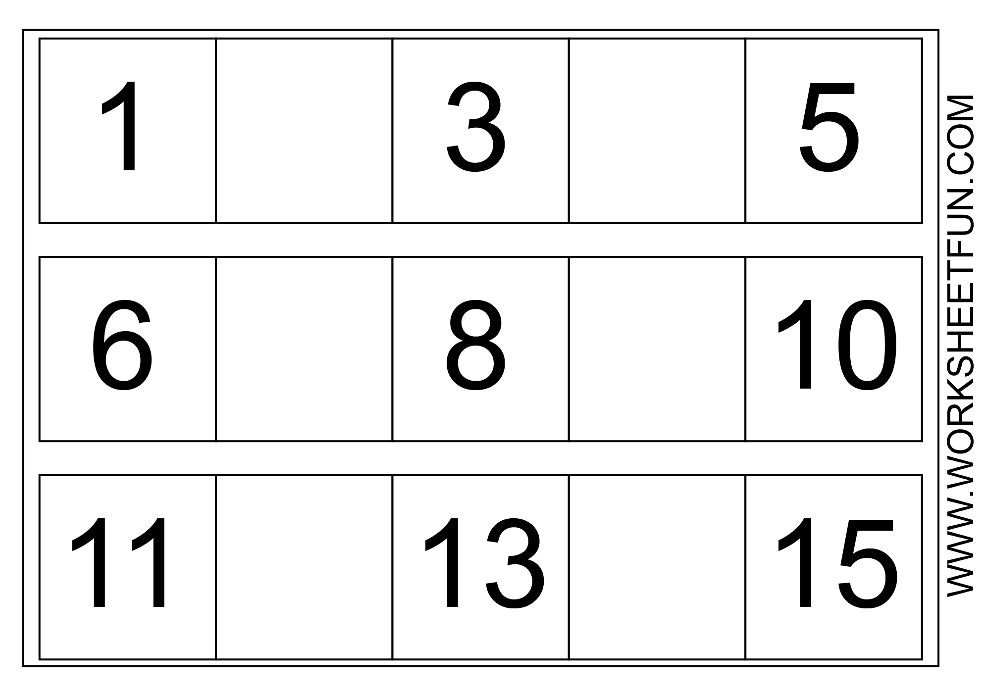 13 Best Images Of Printable Missing Numbers Worksheets 1 30