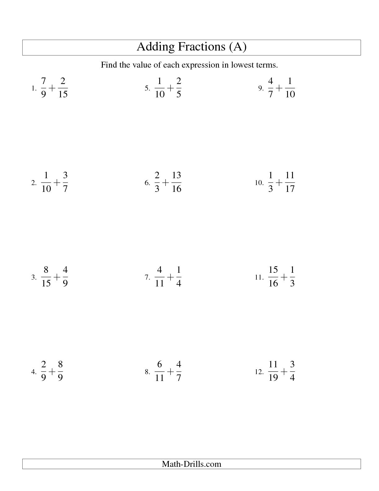 15 Best Images Of 6th Grade Math Worksheets Multiplication