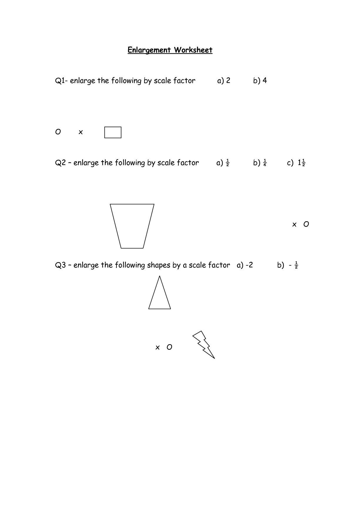 32 Finding Scale Factor Worksheet