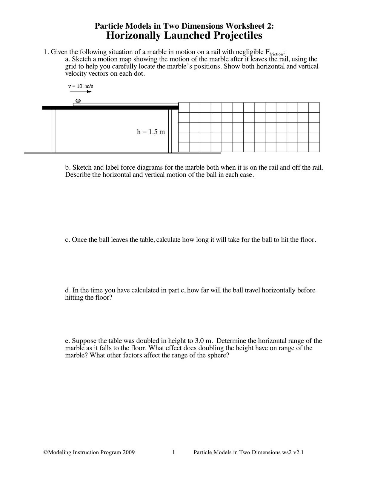 Friction Worksheet Answer Key