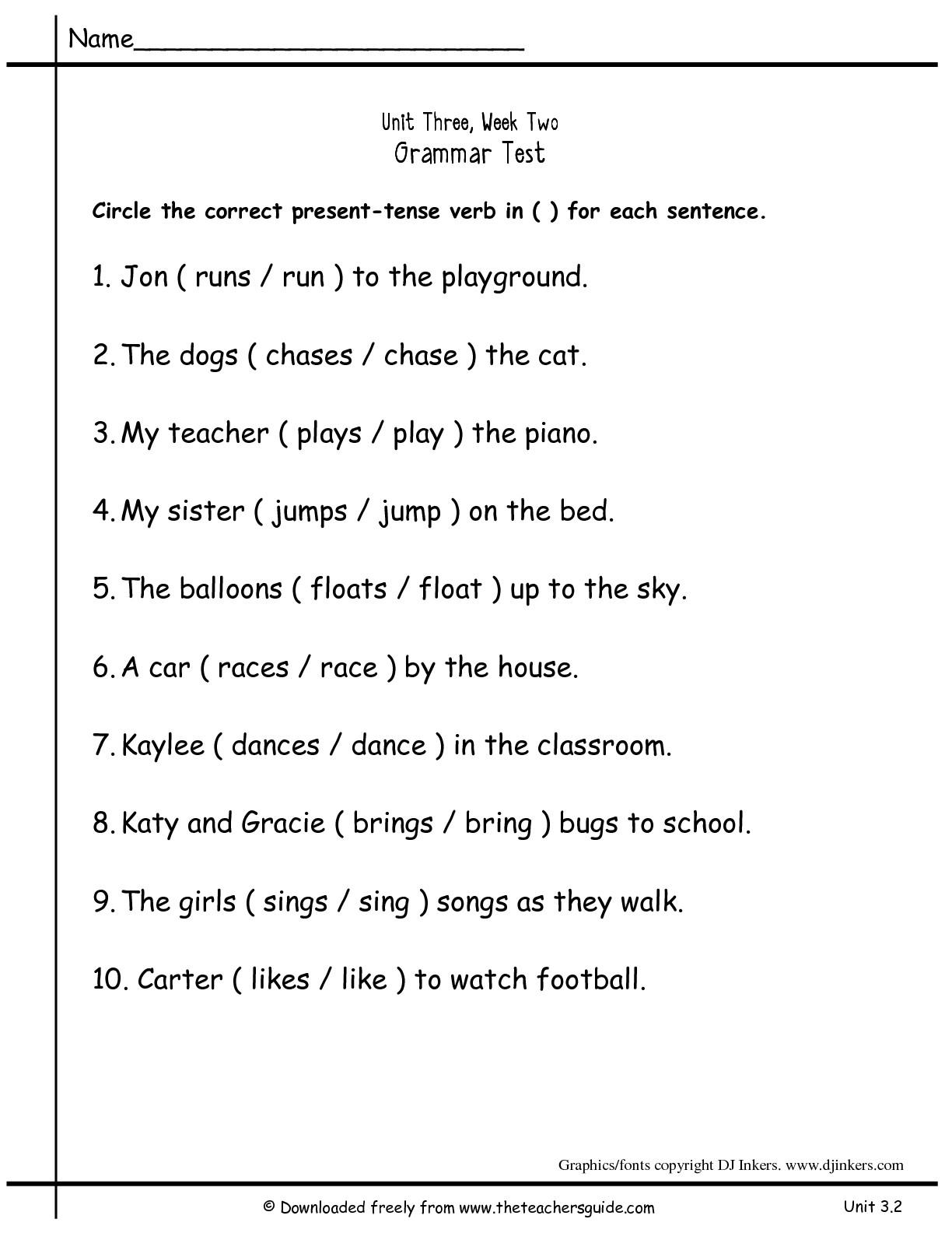 18 Best Images Of Regular Past Tense Verbs Worksheets 2nd