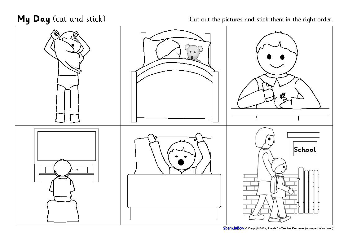13 Best Images Of Visual Worksheets For Preschool