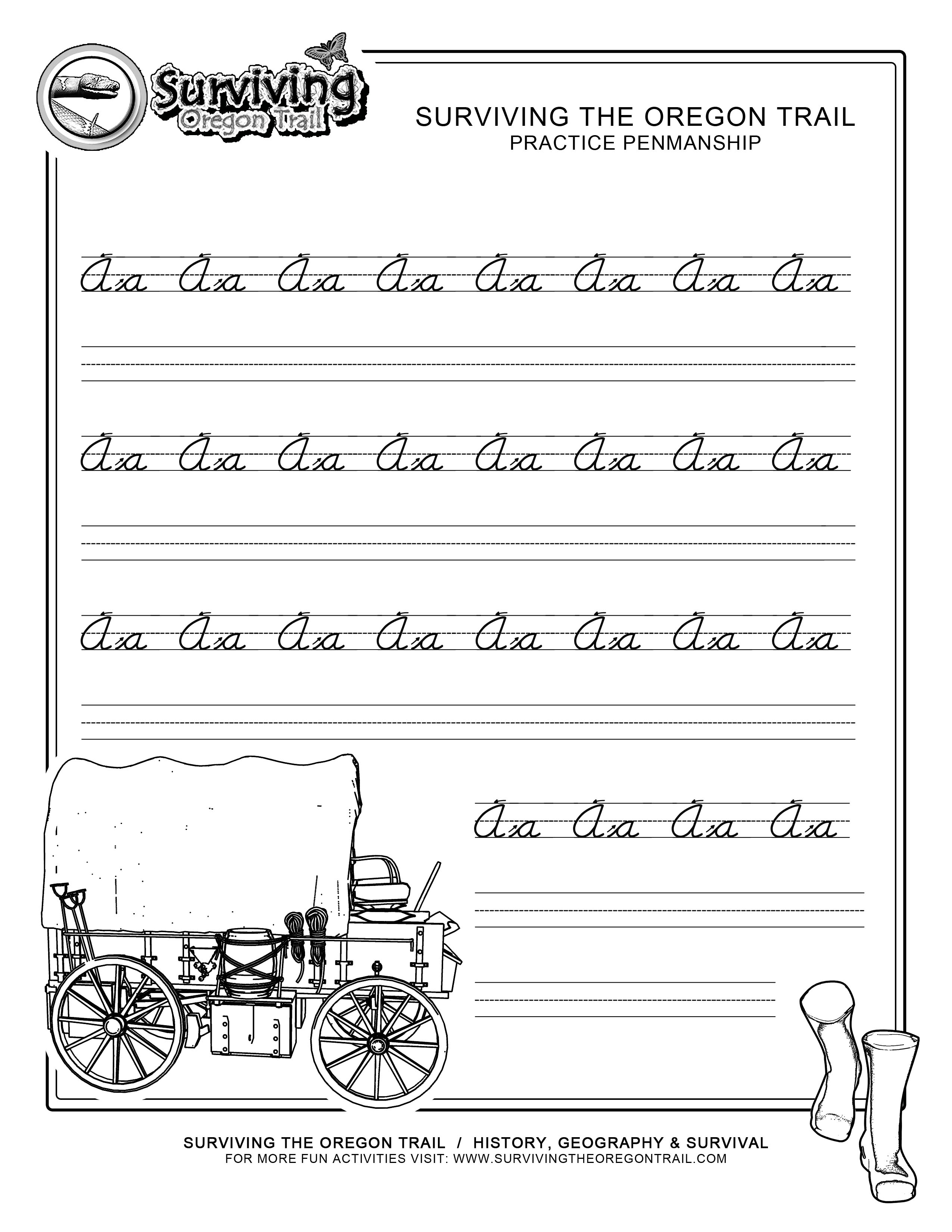 15 Best Images Of Cursive Handwriting Worksheets For Words
