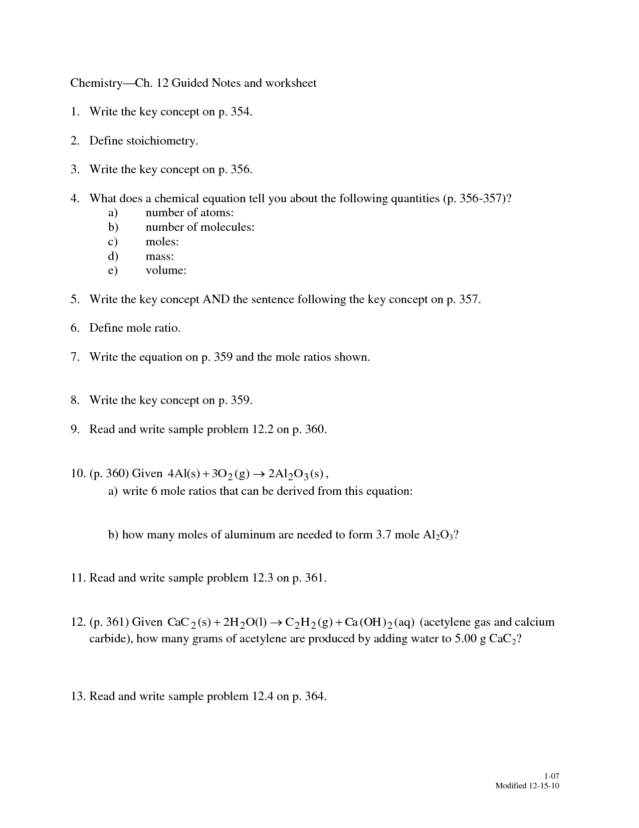 Radioactivity Worksheet Answers Pearson