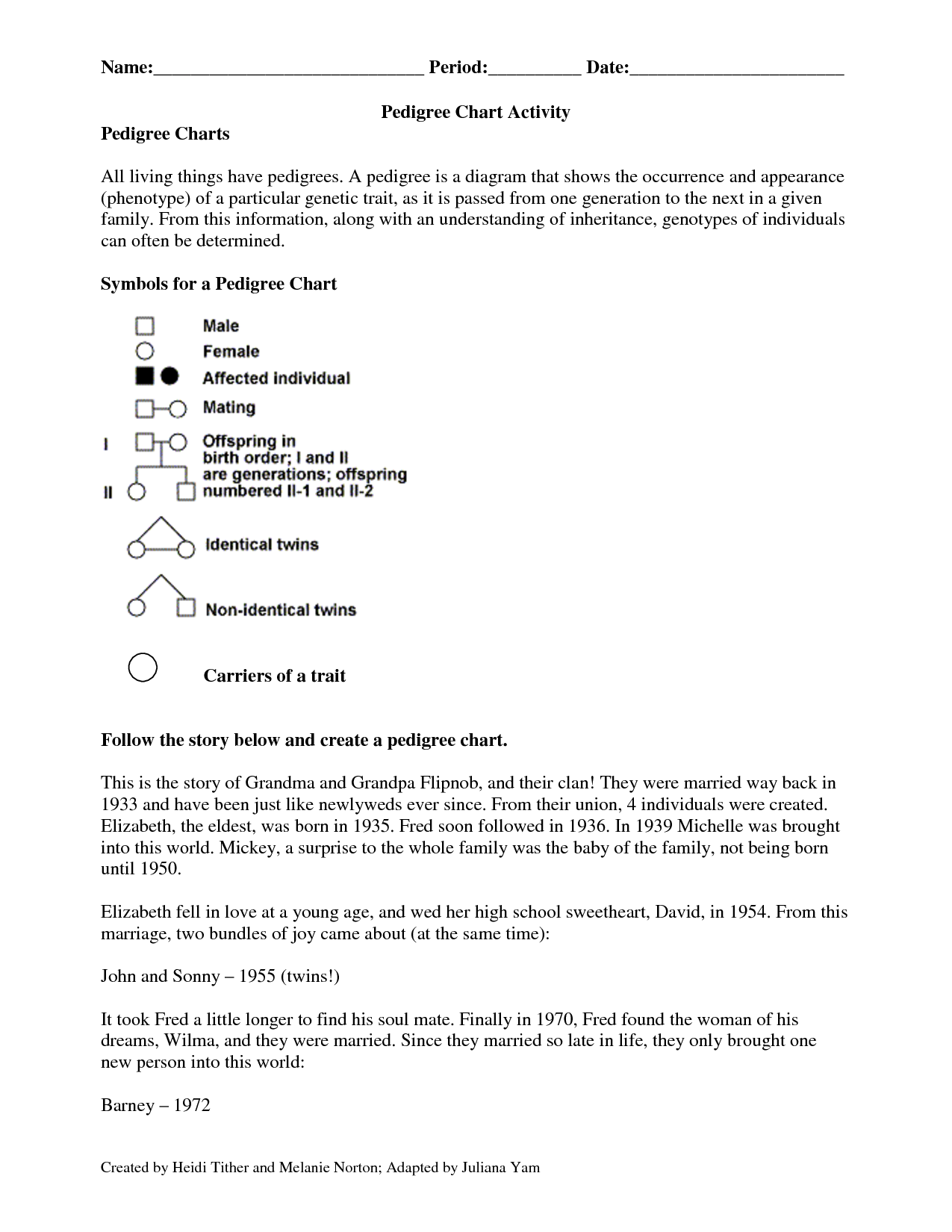 10 Best Images Of Genetics Pedigree Worksheet Key