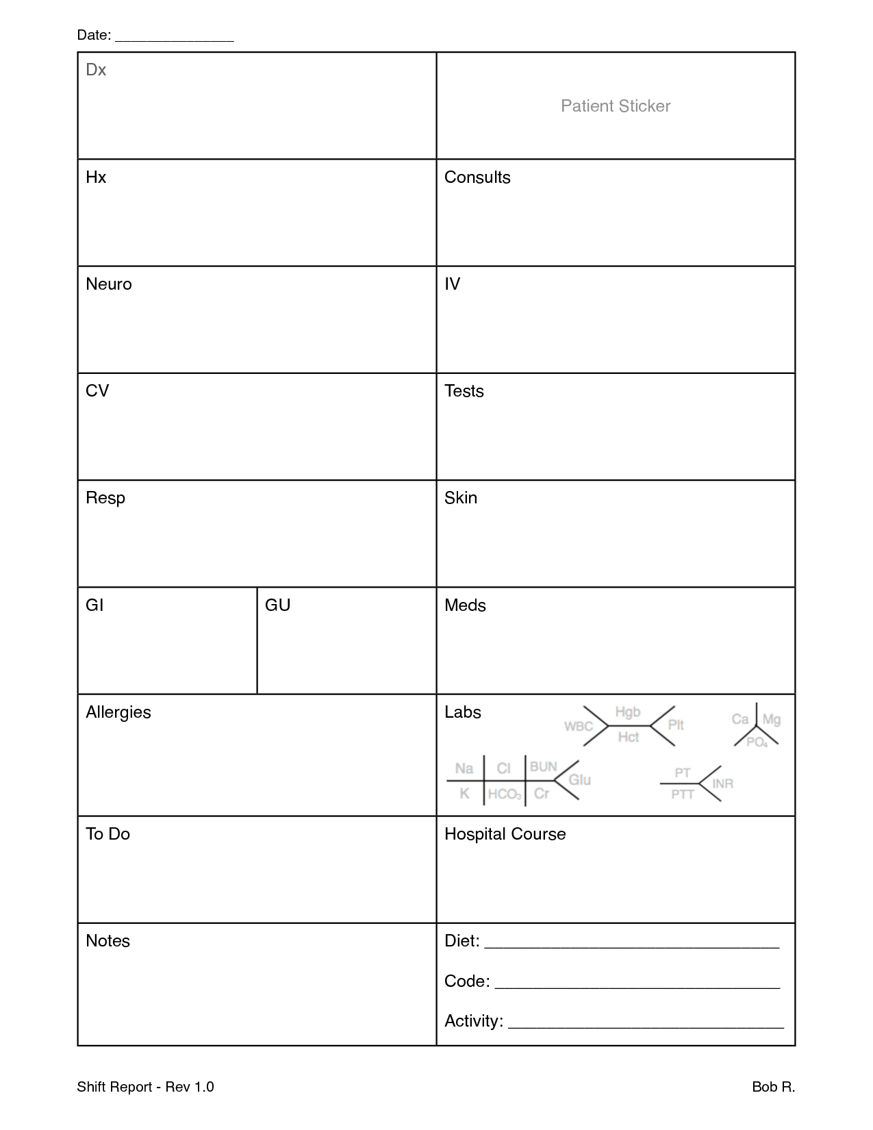 18 Best Images Of Priorities Worksheet Templates