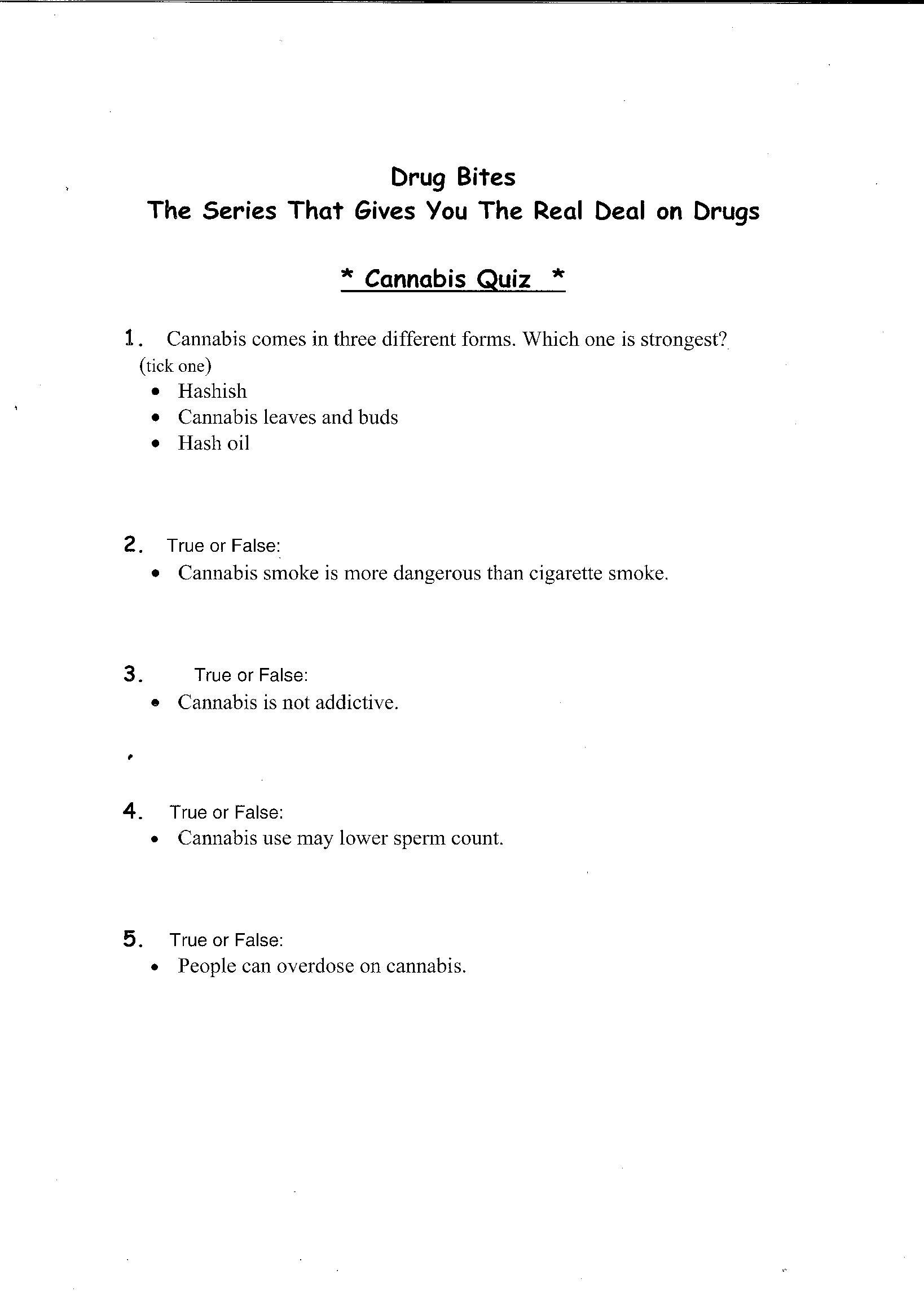 12 Best Images Of Drug Awareness Coloring Worksheet