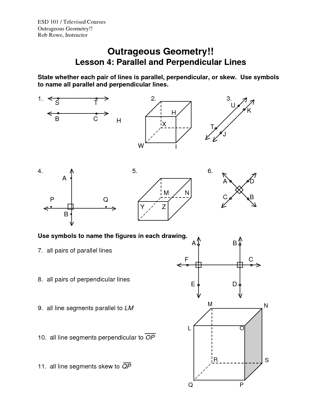 10 Best Images Of Finding Slope Worksheets