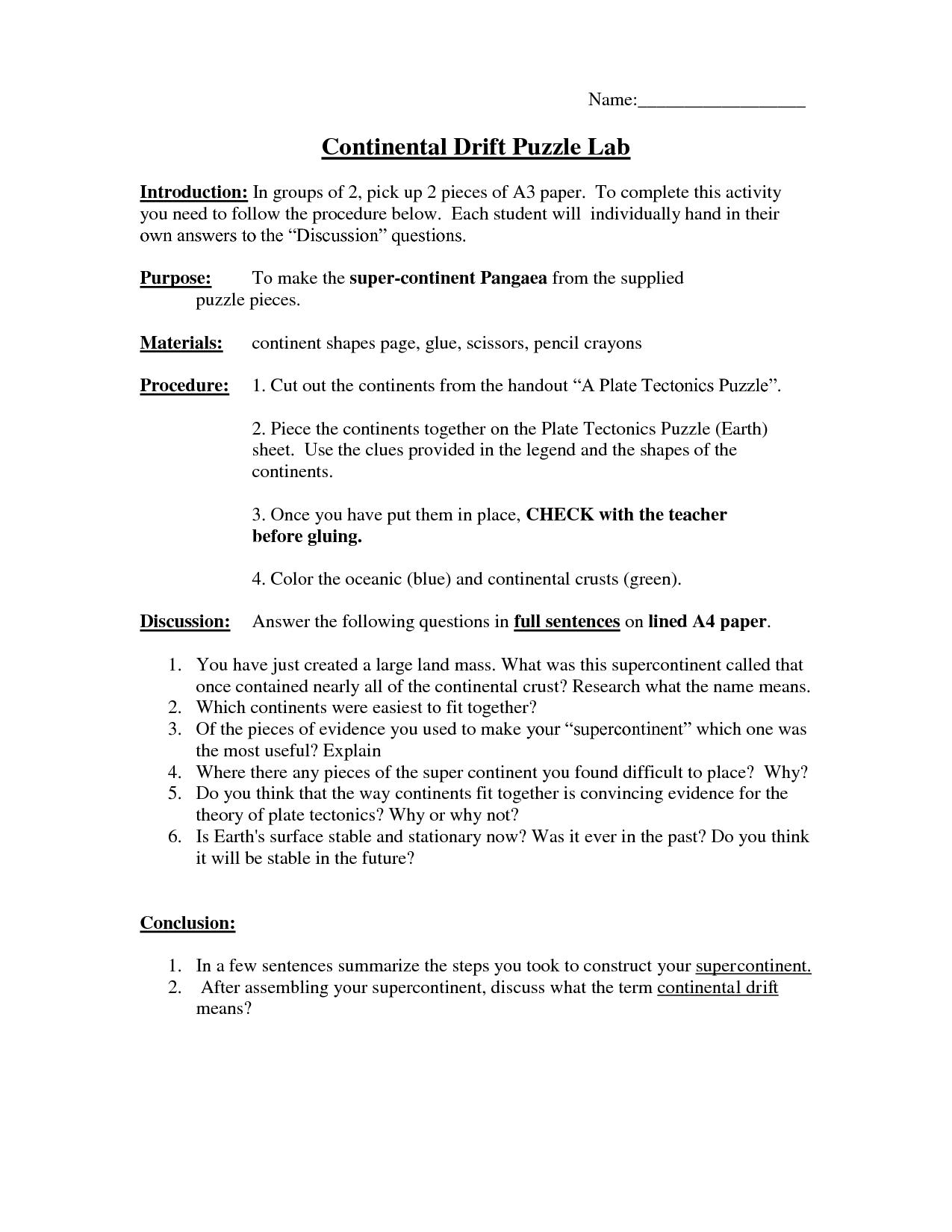 Best Templates Pangea Worksheet