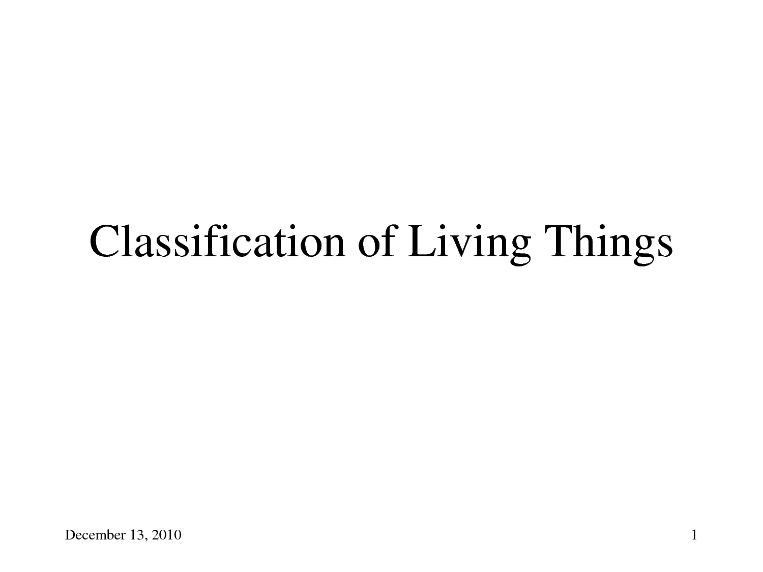 14 Best Images Of Classification Of Living Things
