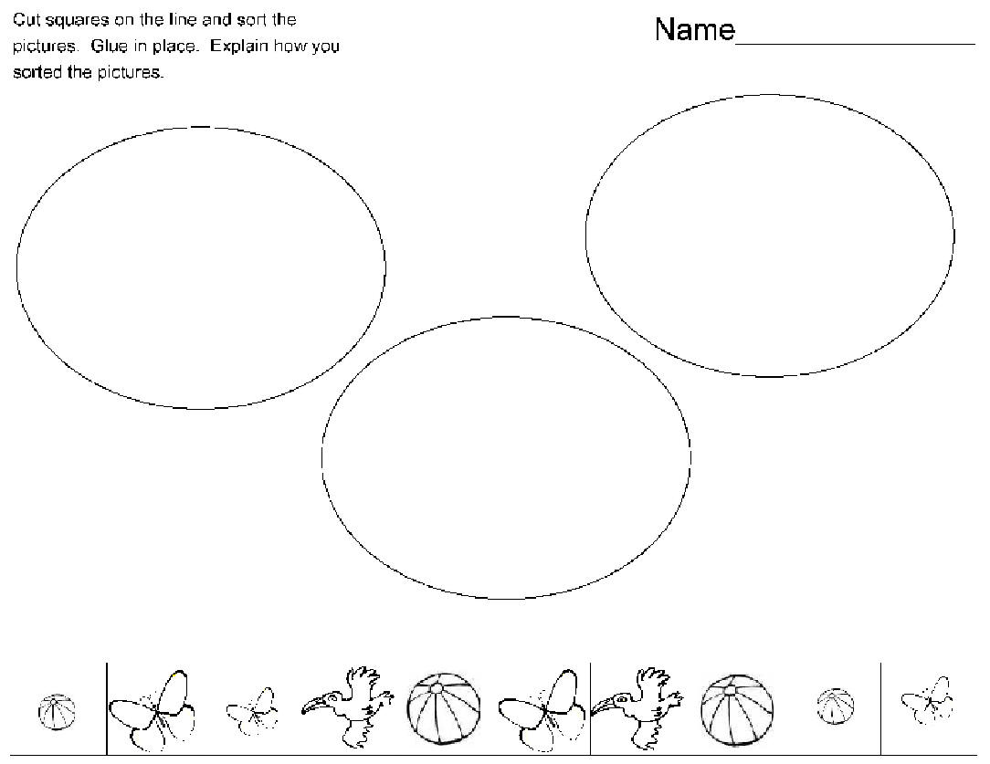 12 Best Images Of Easy Cut And Paste Worksheet