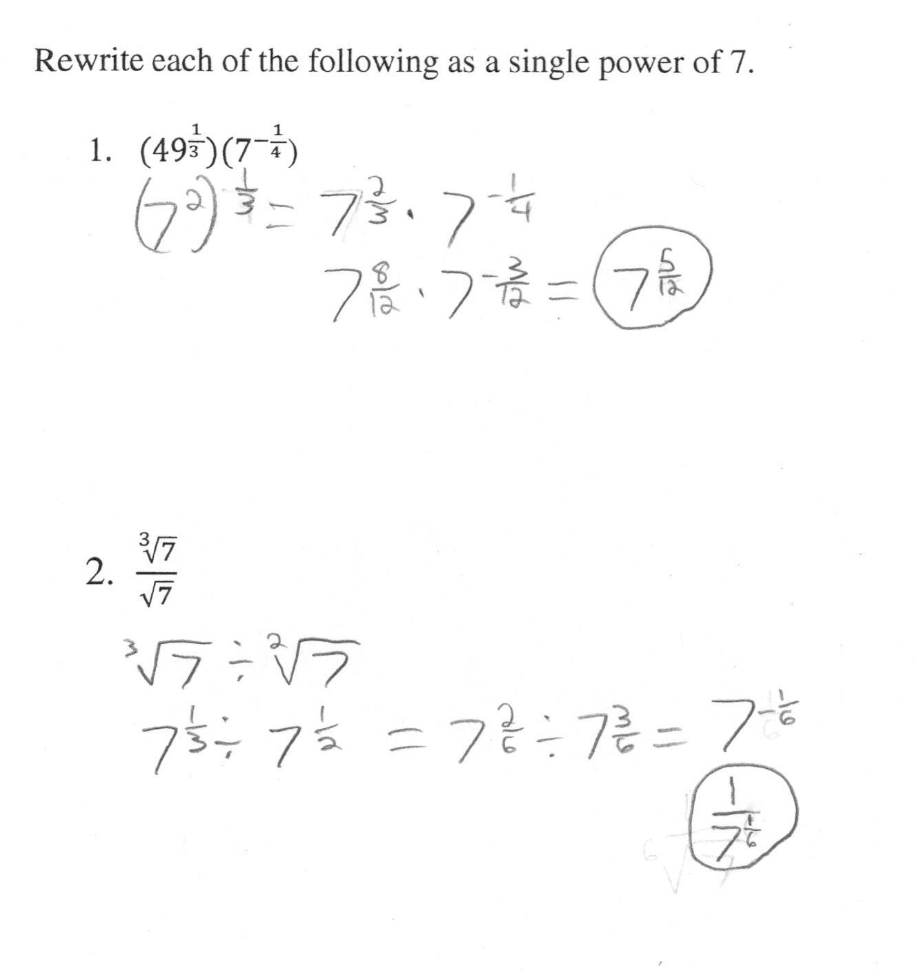 12 Best Images Of Exponential Expressions Worksheet