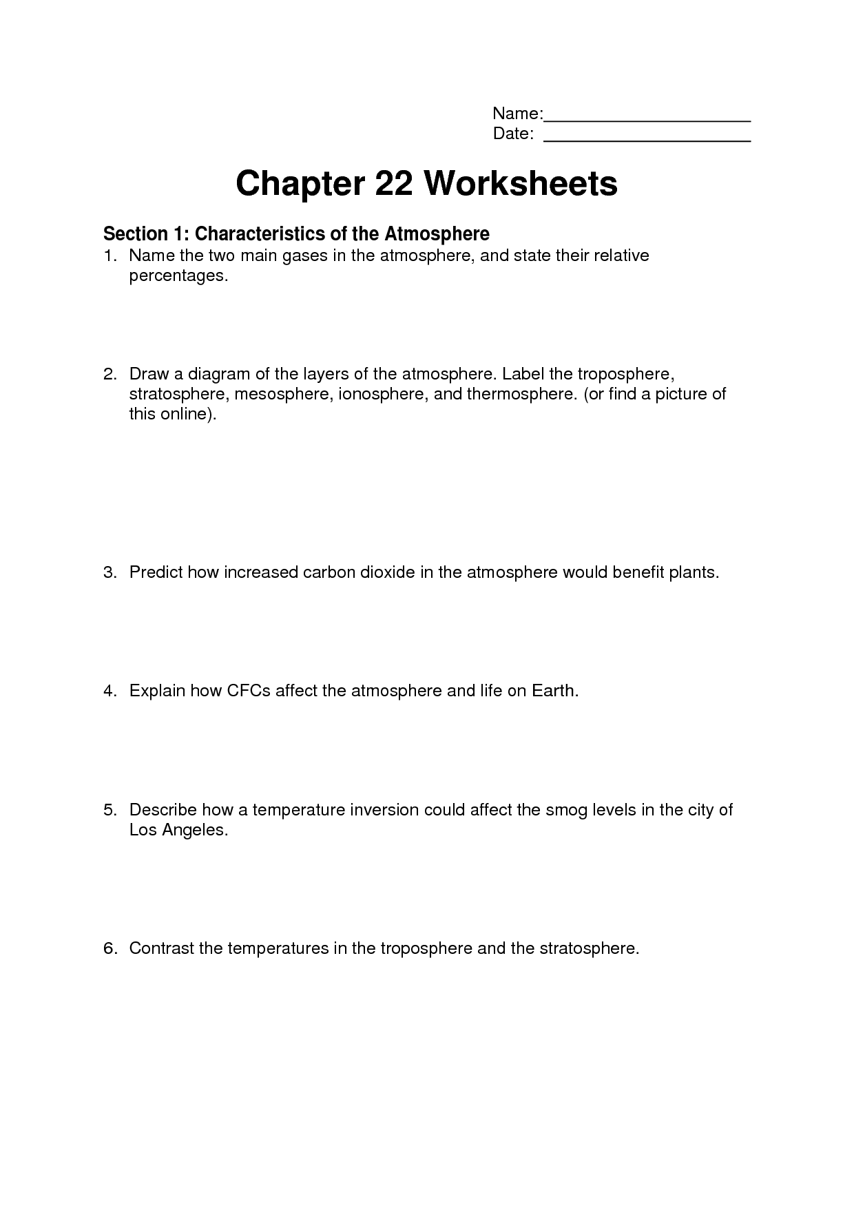 12 Best Images Of 3 Types Of Clouds Worksheets