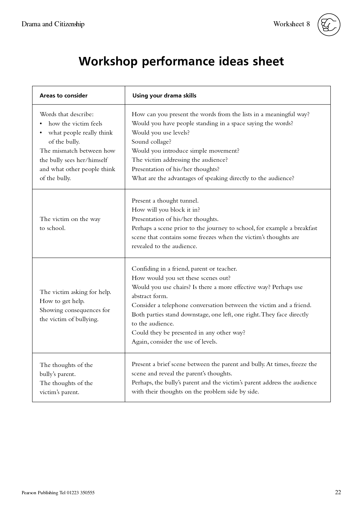 19 Best Images Of Drama Vocabulary Worksheets