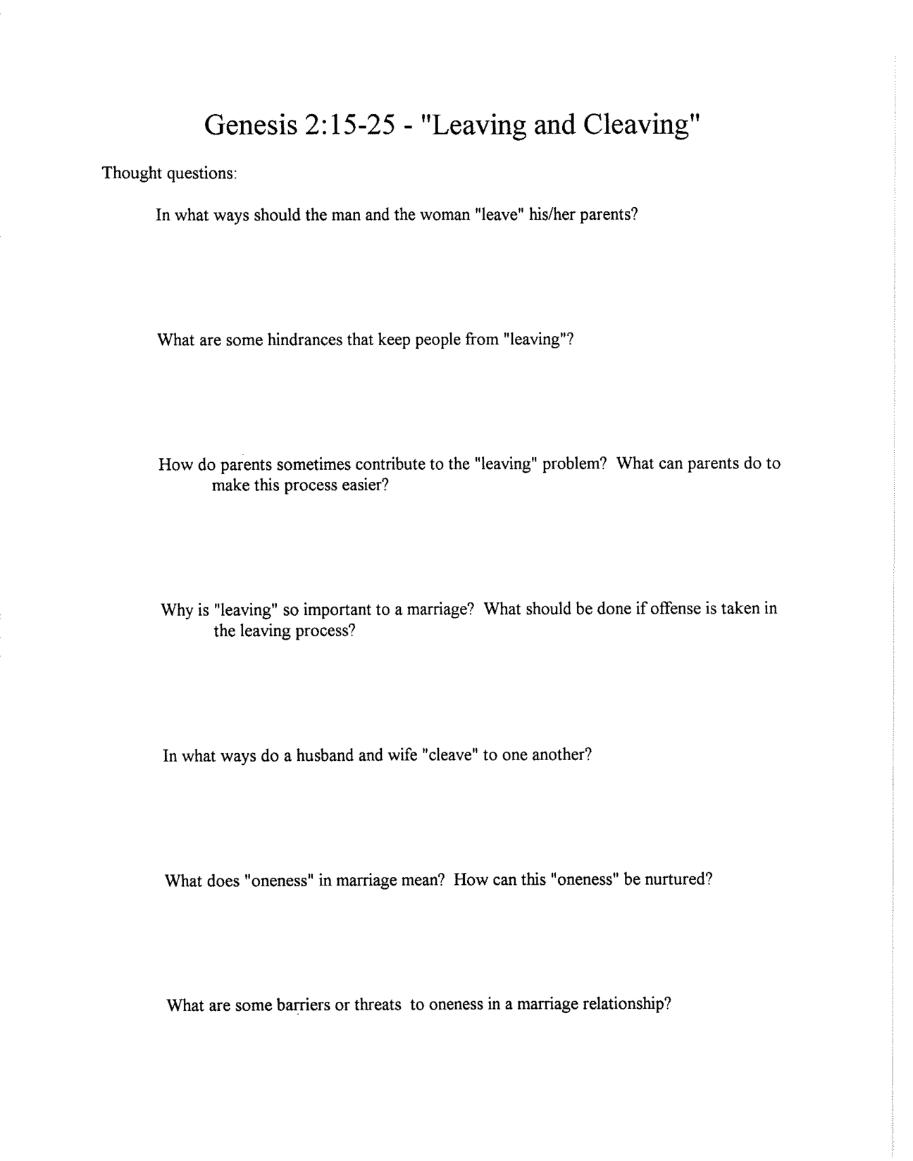 Counseling Worksheet Usmc