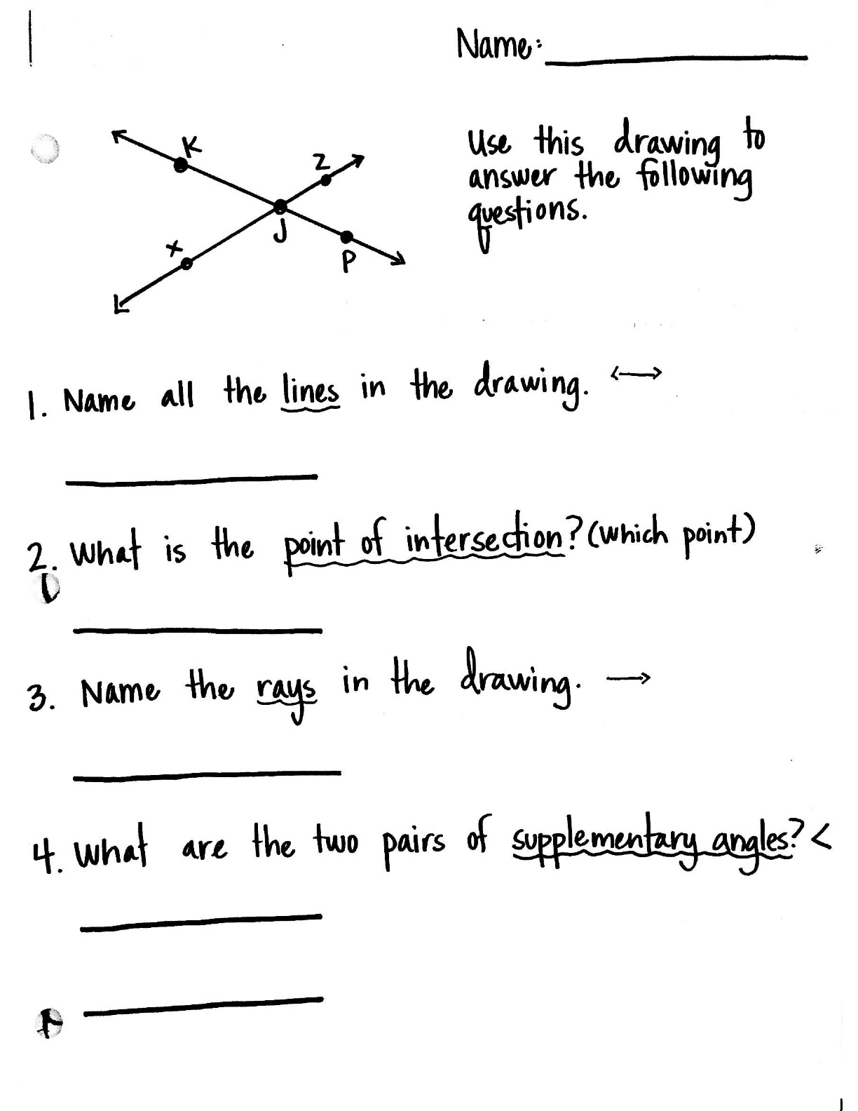 11 Best Images Of Drawing Angles Worksheet