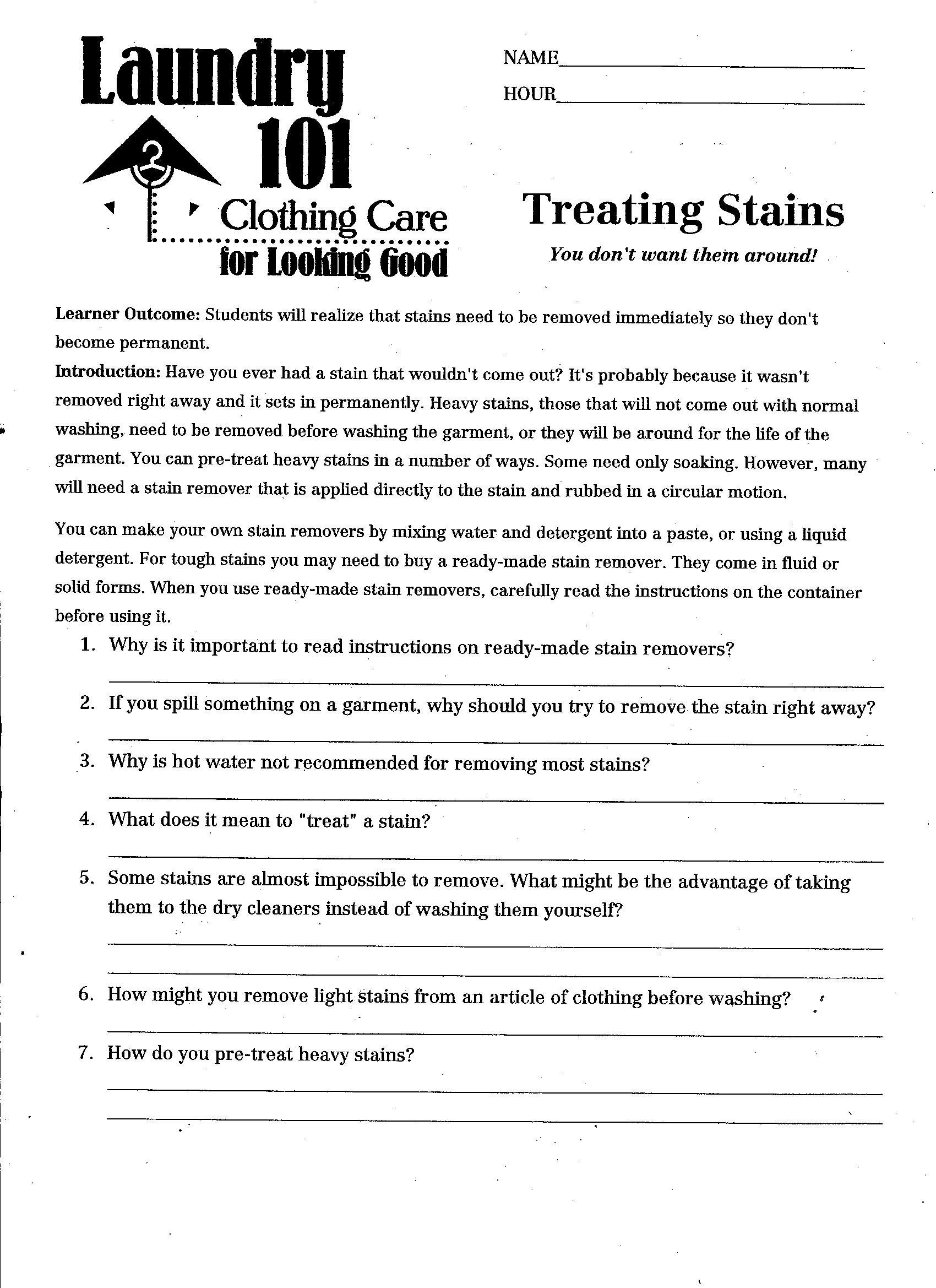 10 Best Images Of Cooking Abbreviations Worksheets