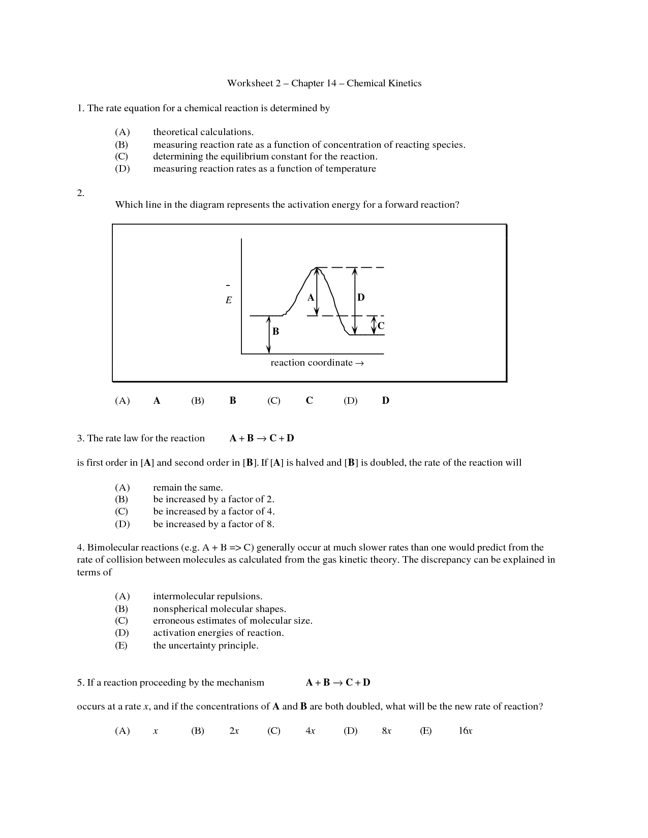 35 Energy In Reactions Worksheet