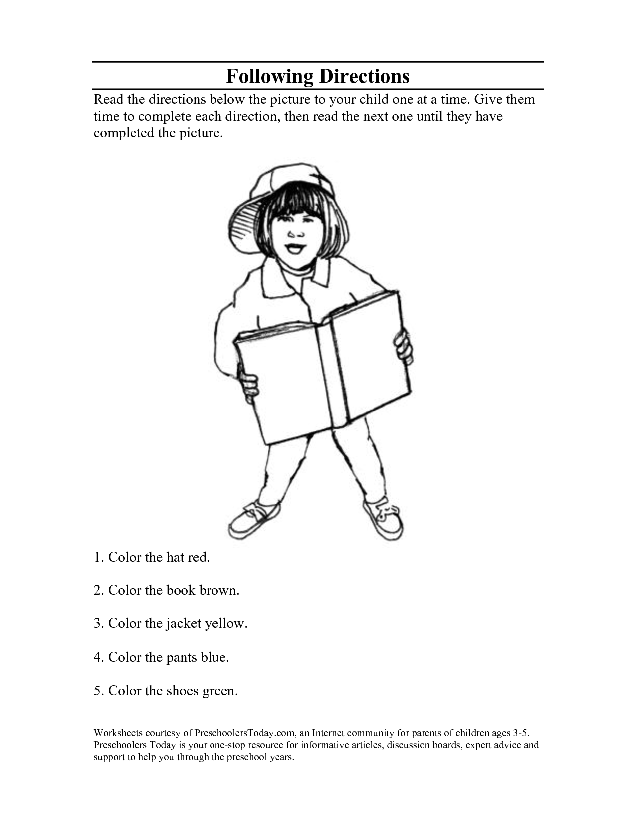 8 Best Images Of Christmas Following Directions Worksheets
