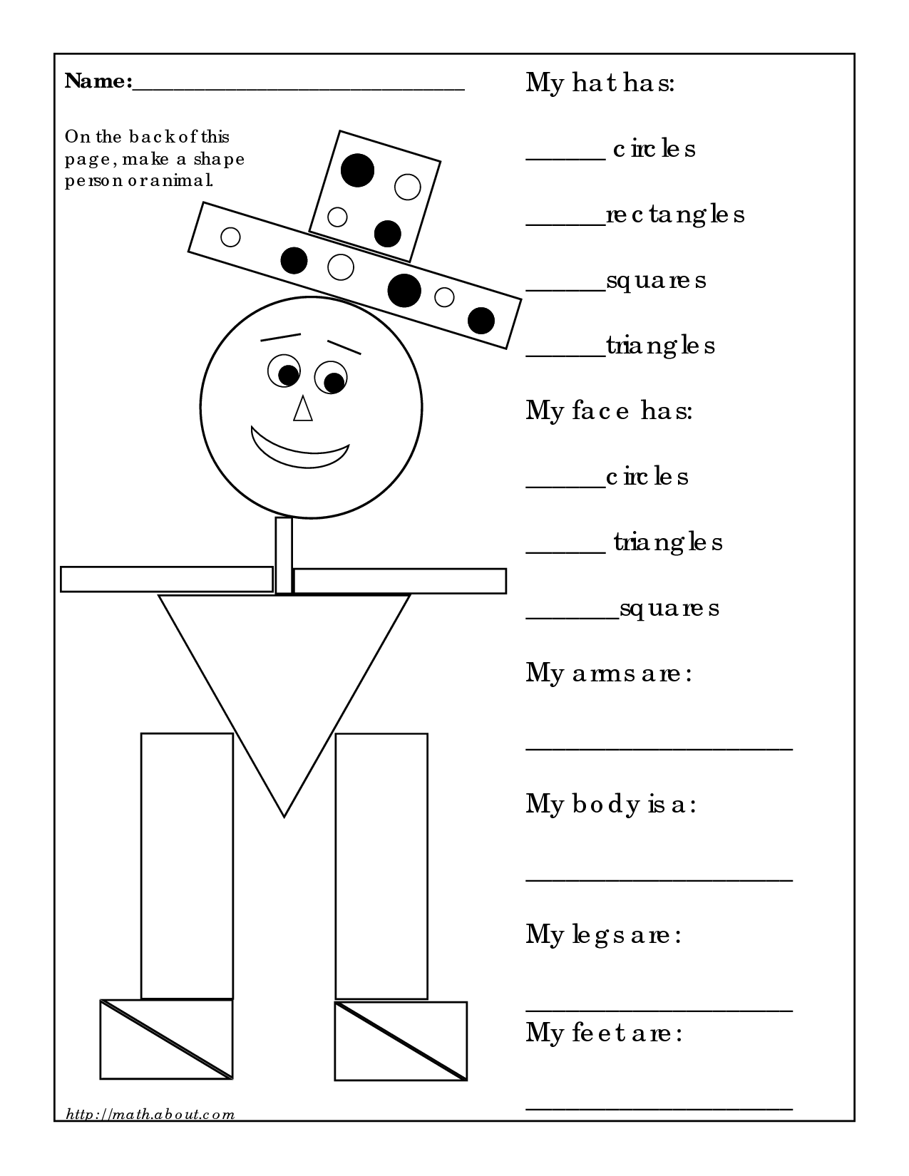 12 Best Images Of Sphere Shape Worksheet
