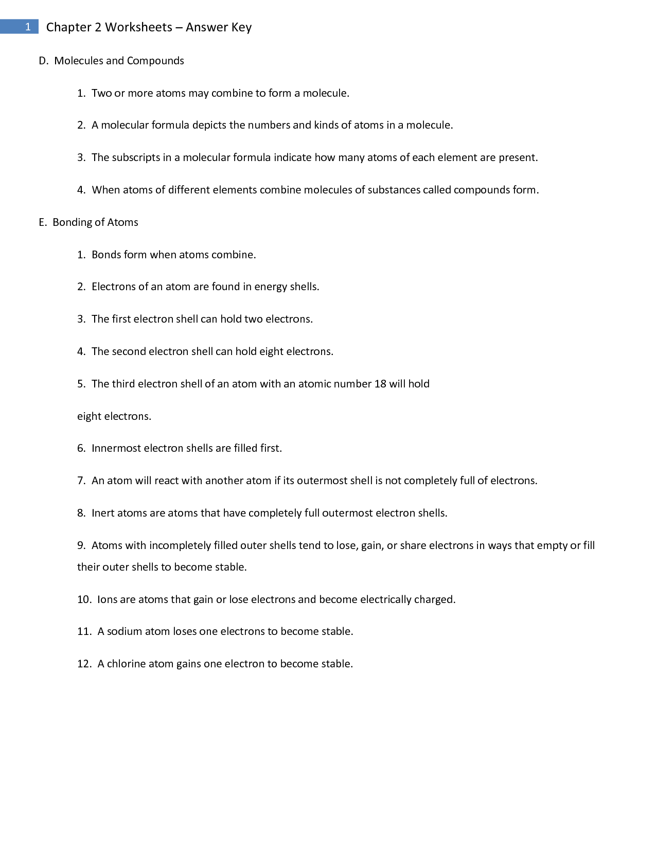 14 Best Images Of Macromolecules Review Worksheet Answer