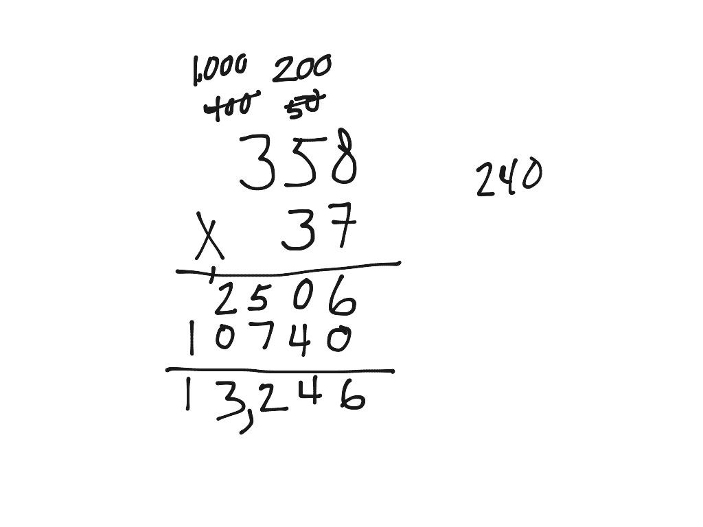 14 Best Images Of Blank Lattice Multiplication Worksheets