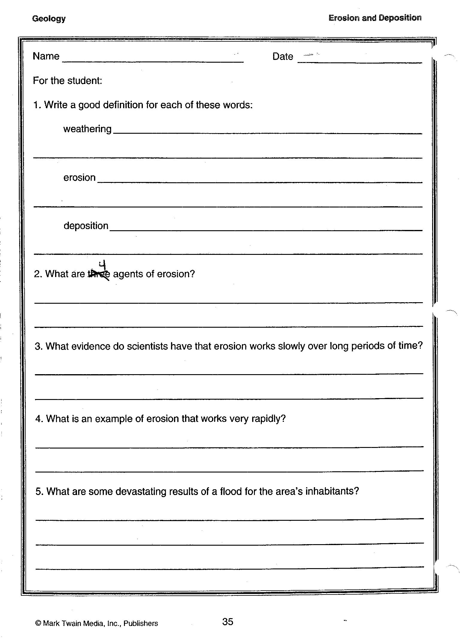 10 Best Images Of Weather Homework Worksheets