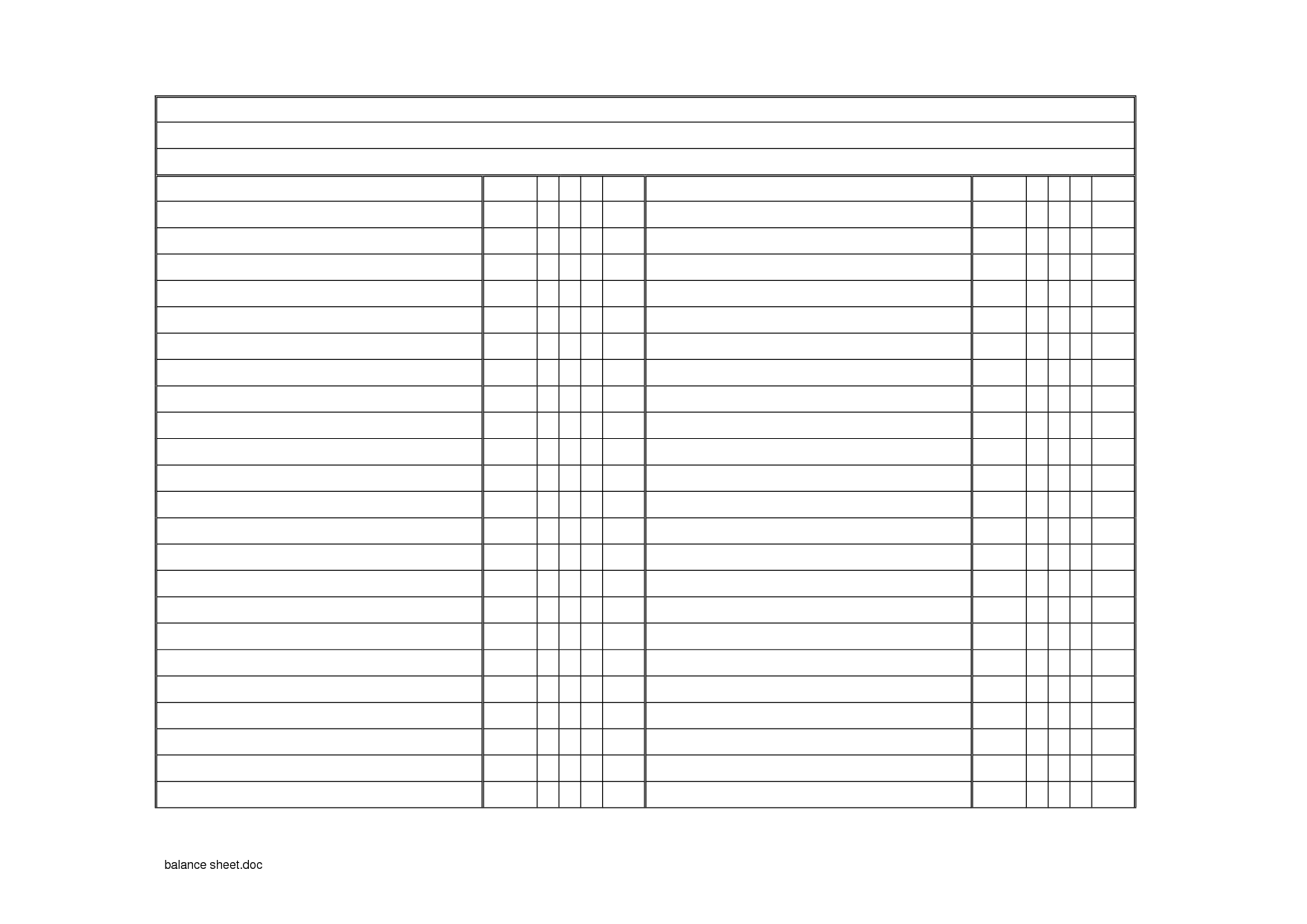 T Account Worksheet Excel