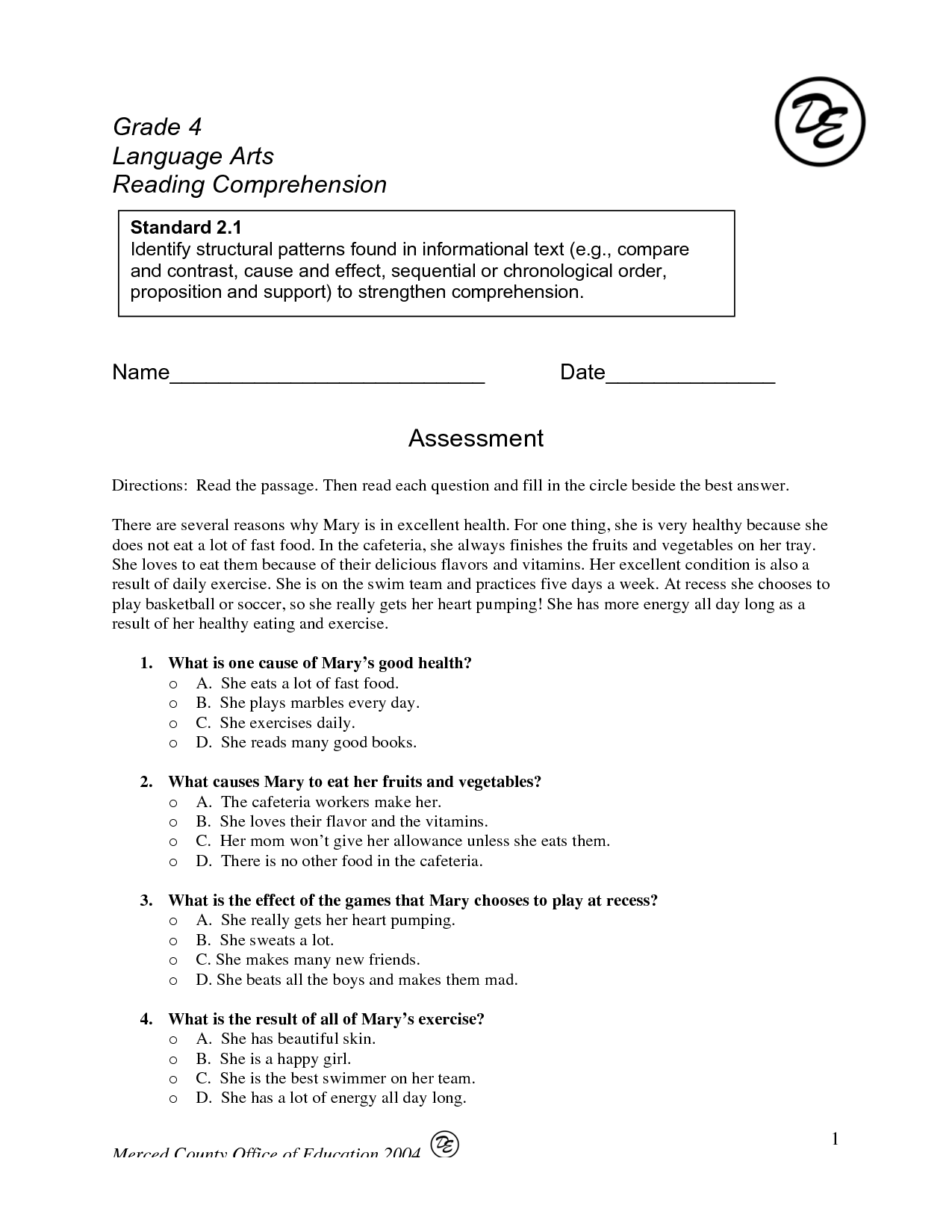 13 Best Images Of Poetry Pattern Worksheets