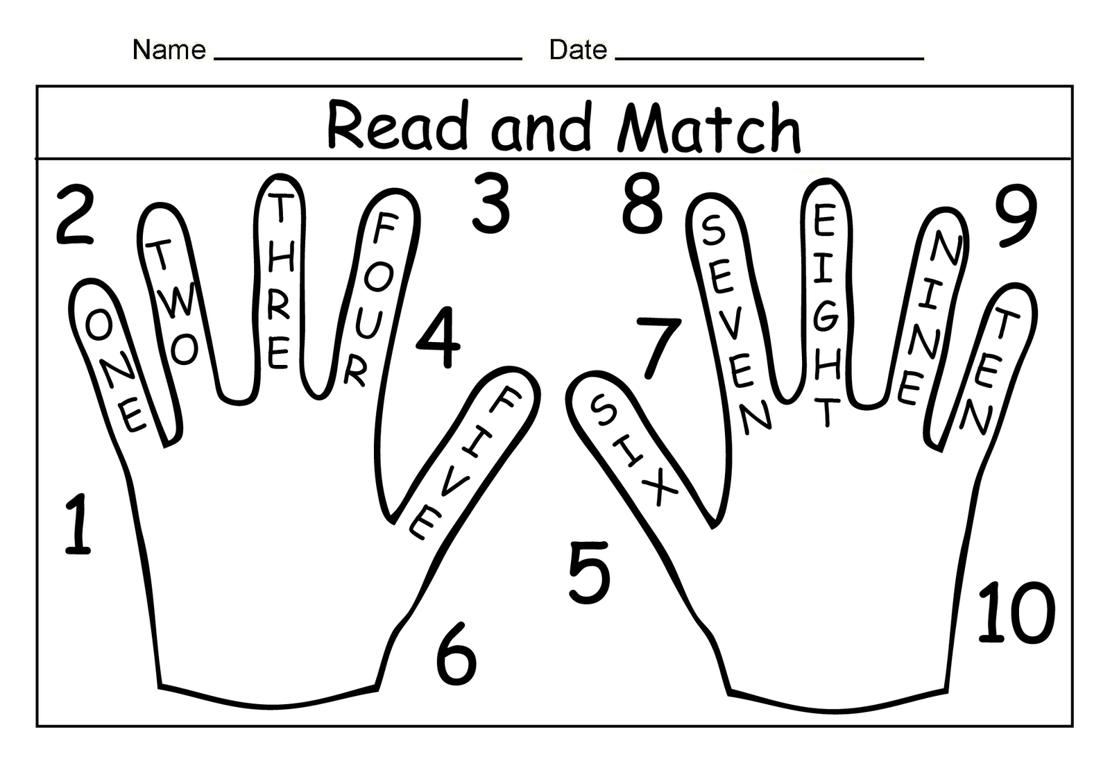 13 Best Images Of Writing Number Words 1 10 Worksheets