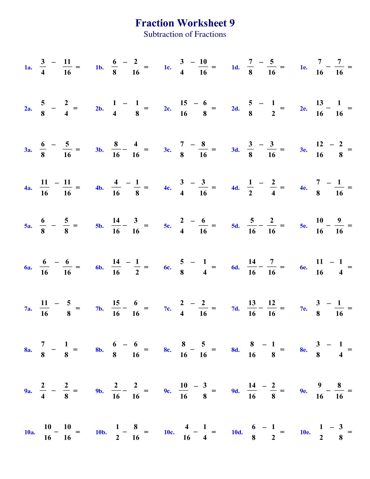 16 Best Images Of Second Grade Fraction Worksheets