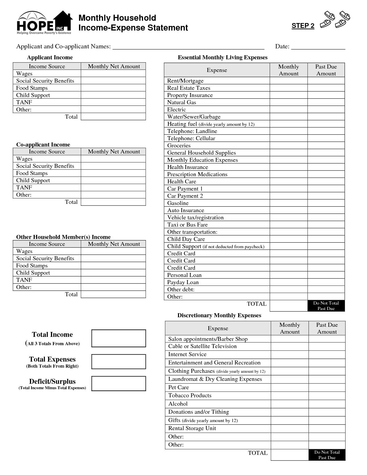 Family Consumer Science Worksheet