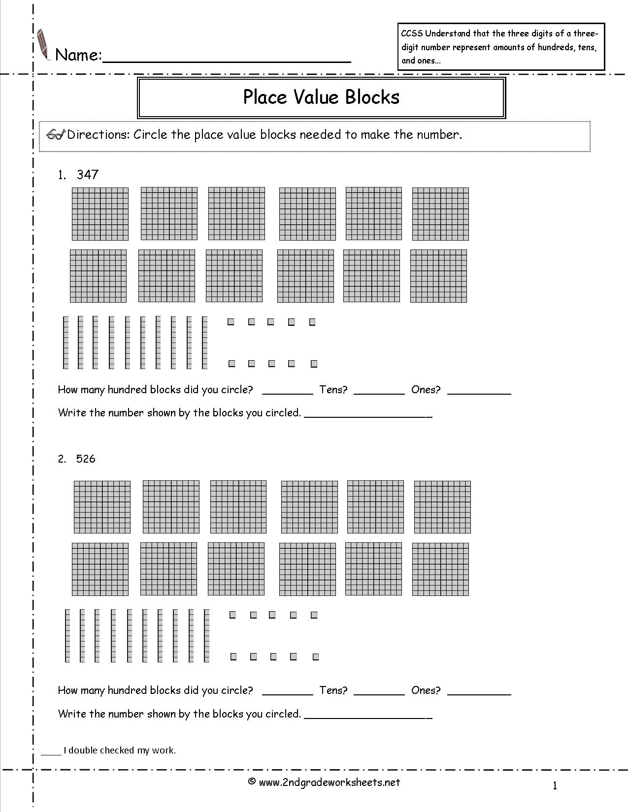 11 Best Images Of Word And Expanded Form Worksheets