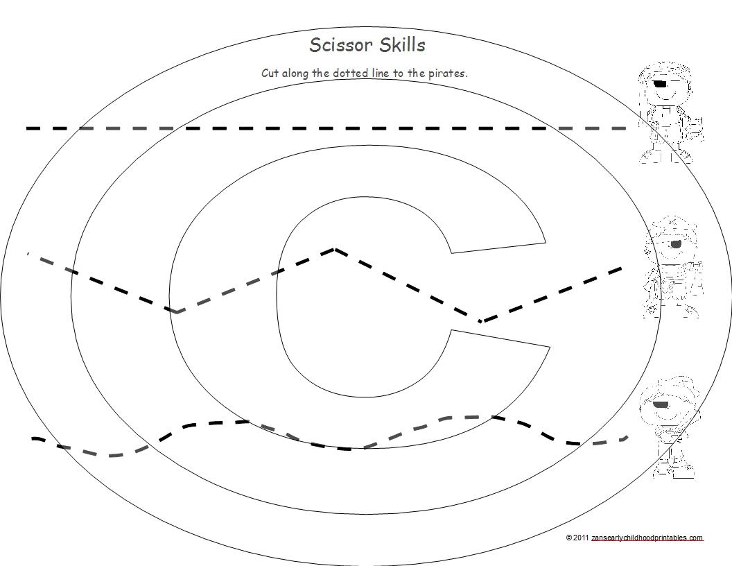 11 Best Images Of Scissor Skills Worksheets Printable