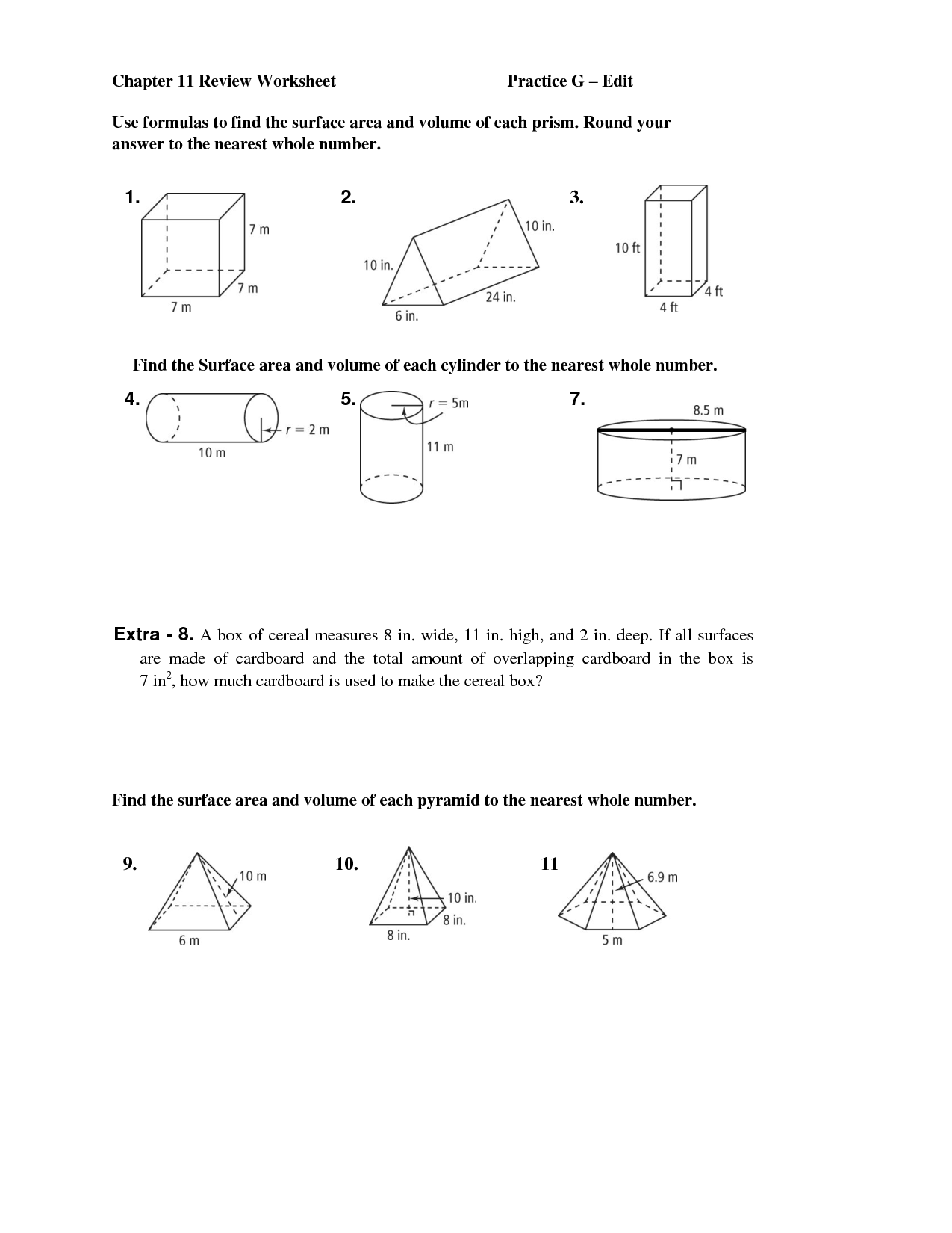 11 Best Images Of A Net Of Cube Worksheet